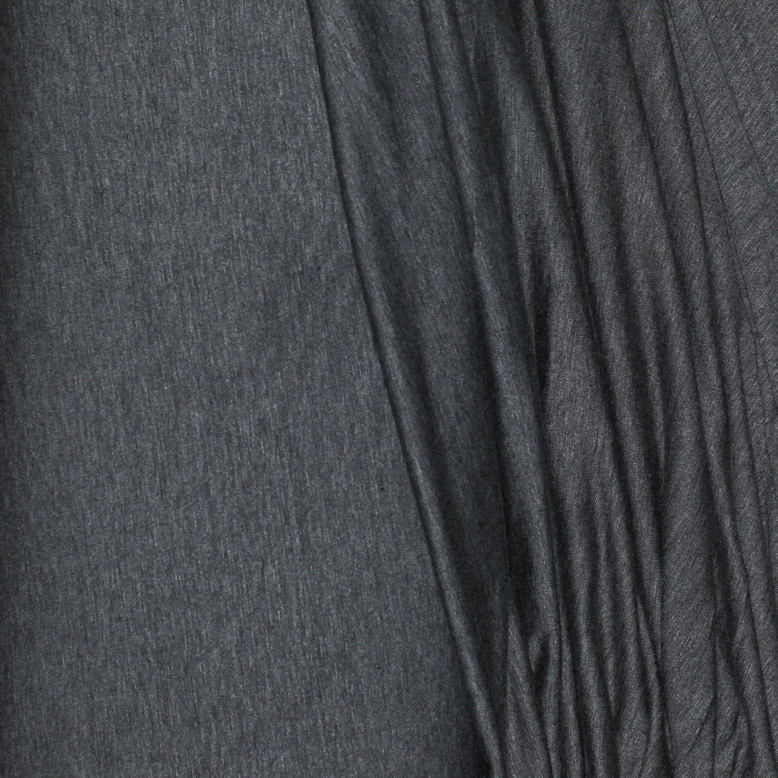 Rayon Jersey Charcoal