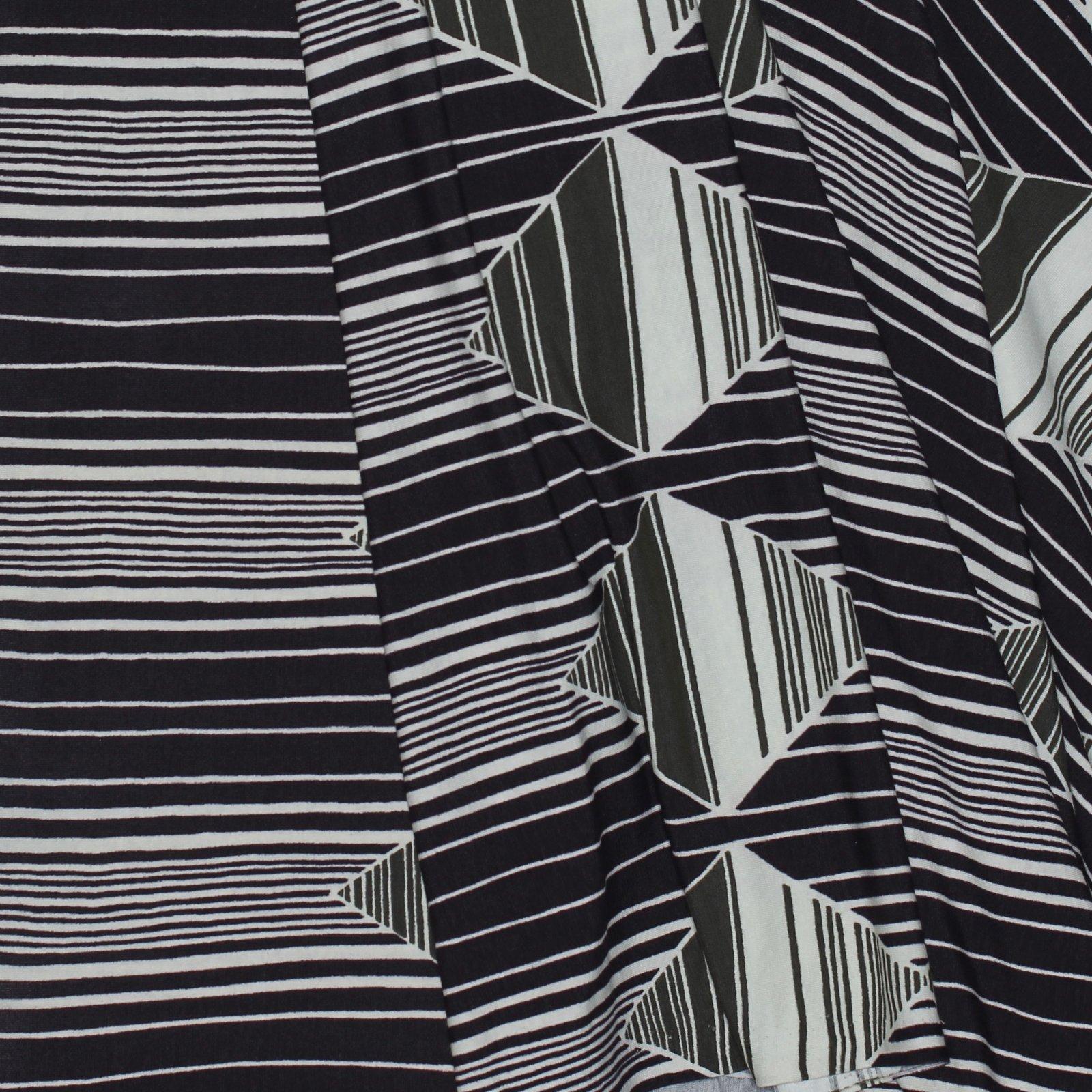 Just Cavalli Geometric Viscose Knit