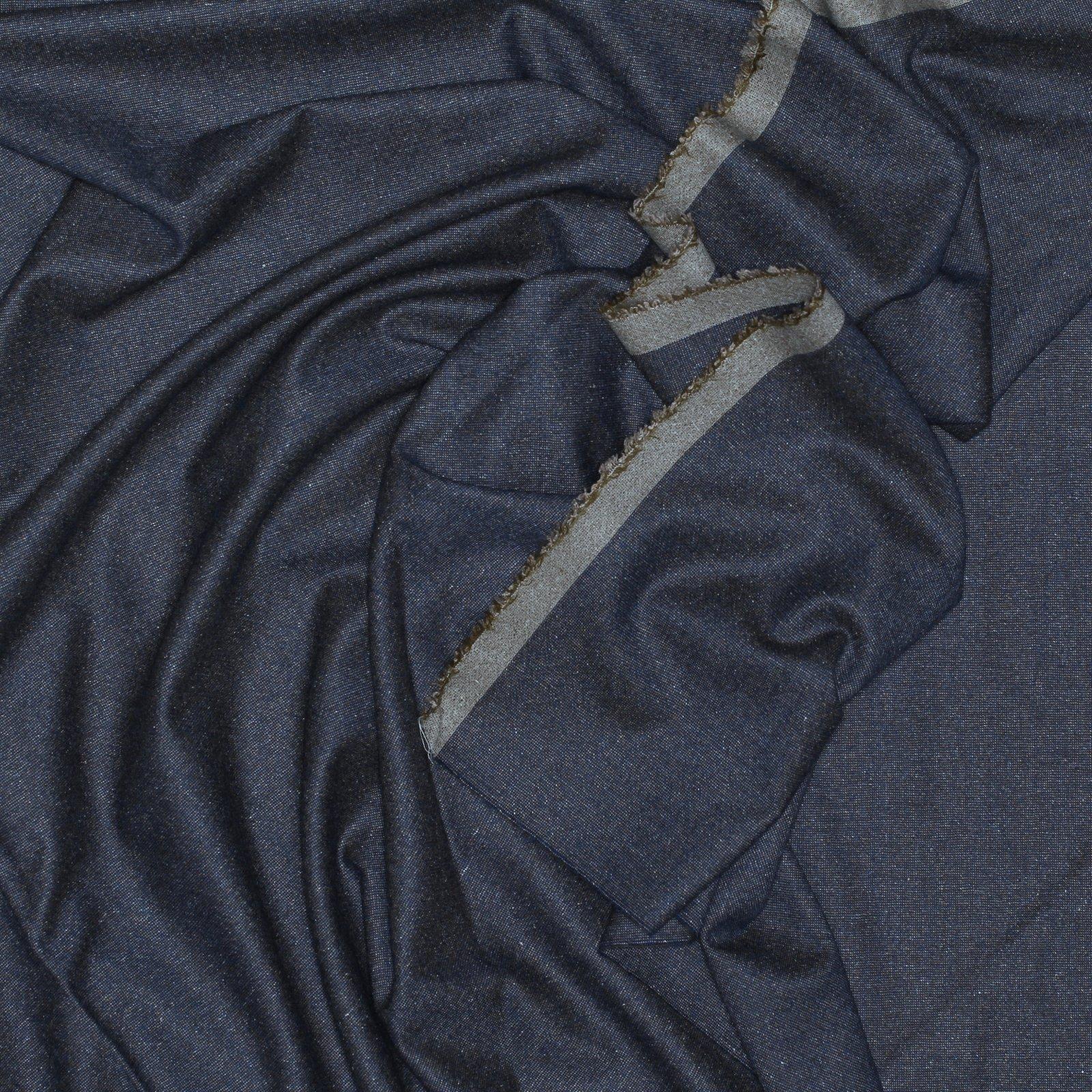 Soft Grey & Gold Flecked Italian Tweed Wool