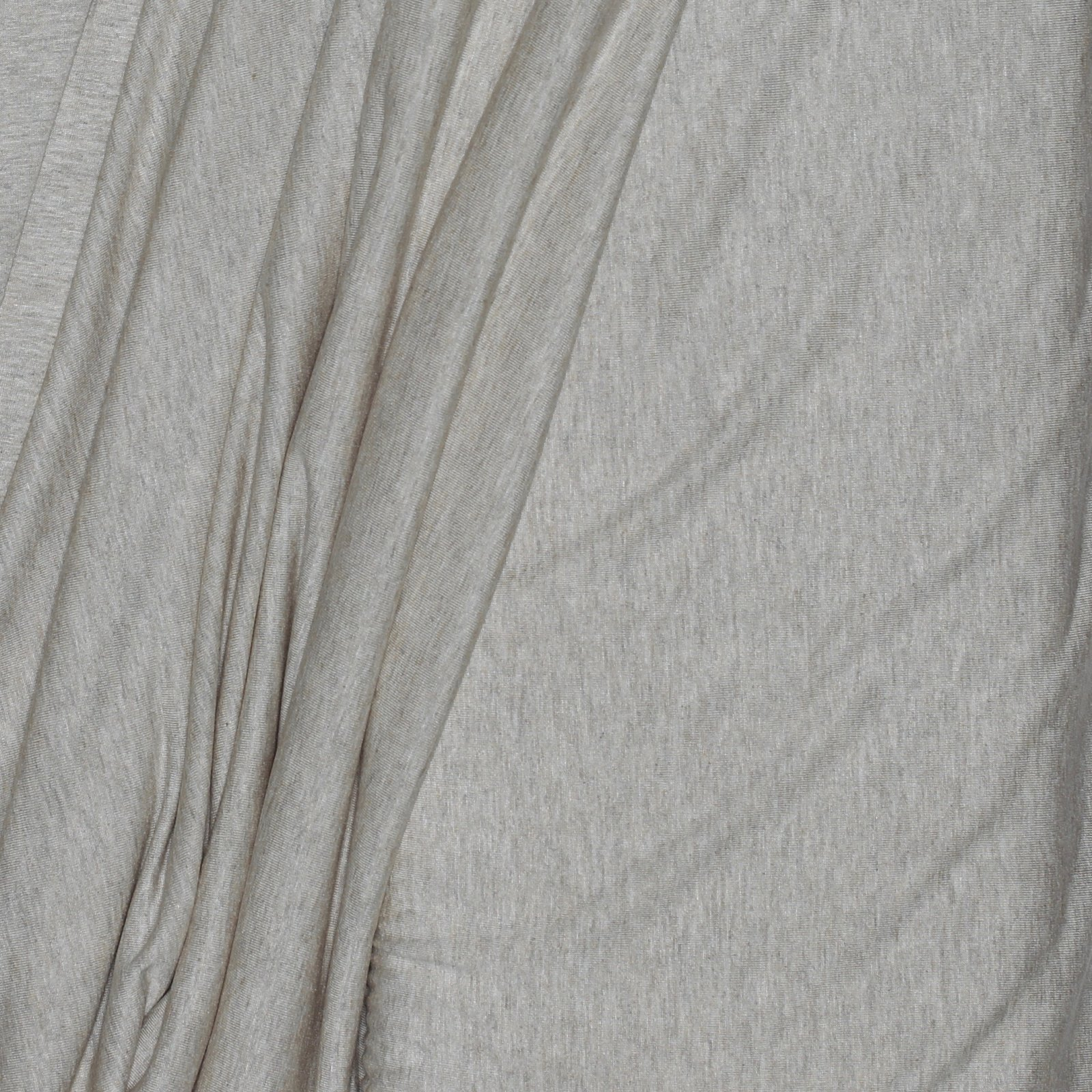 Natural Heathered Rayon Knit