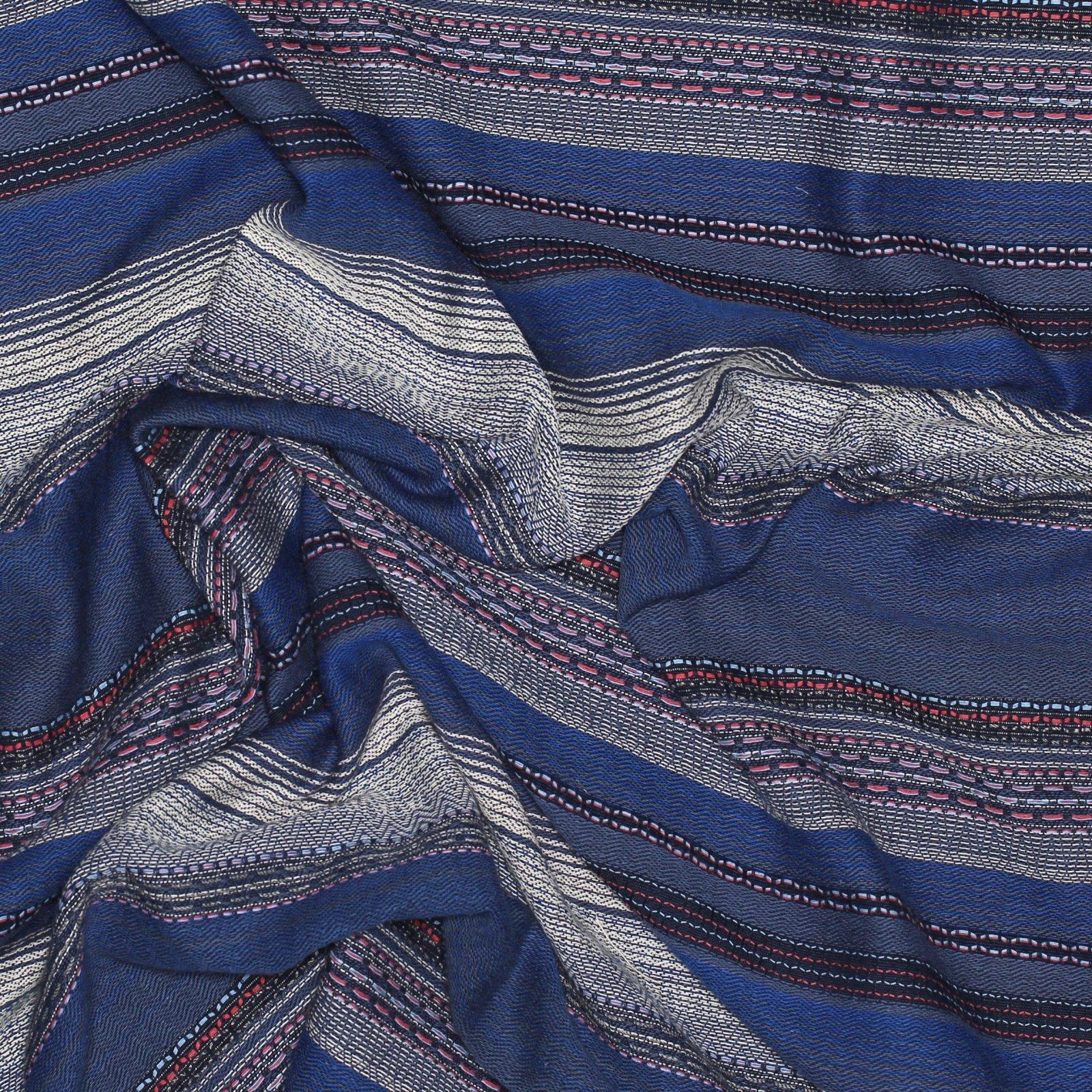 French Woven Cotton Stripe
