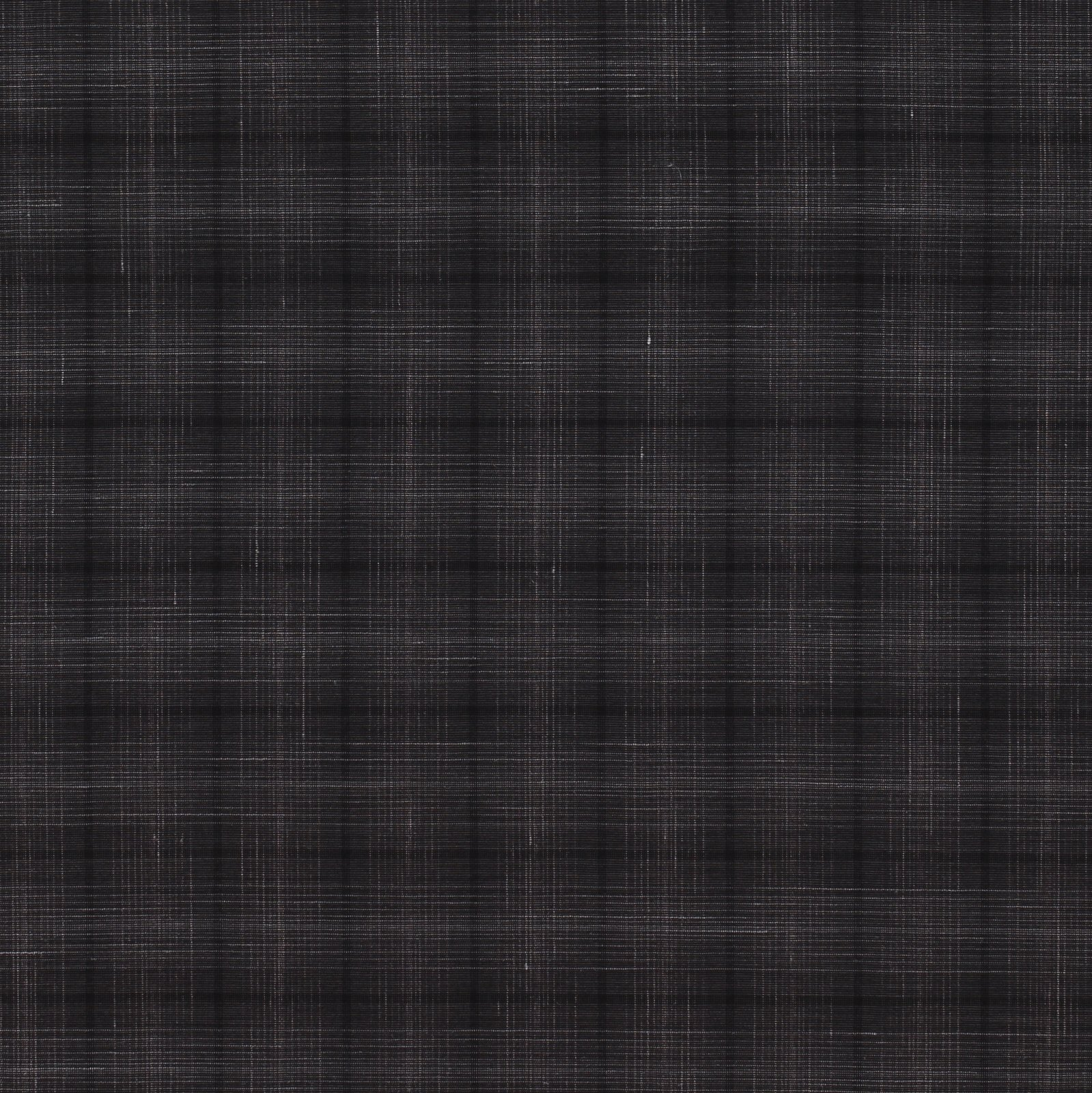 Grey Subtle Plaid Italian Wool Blend