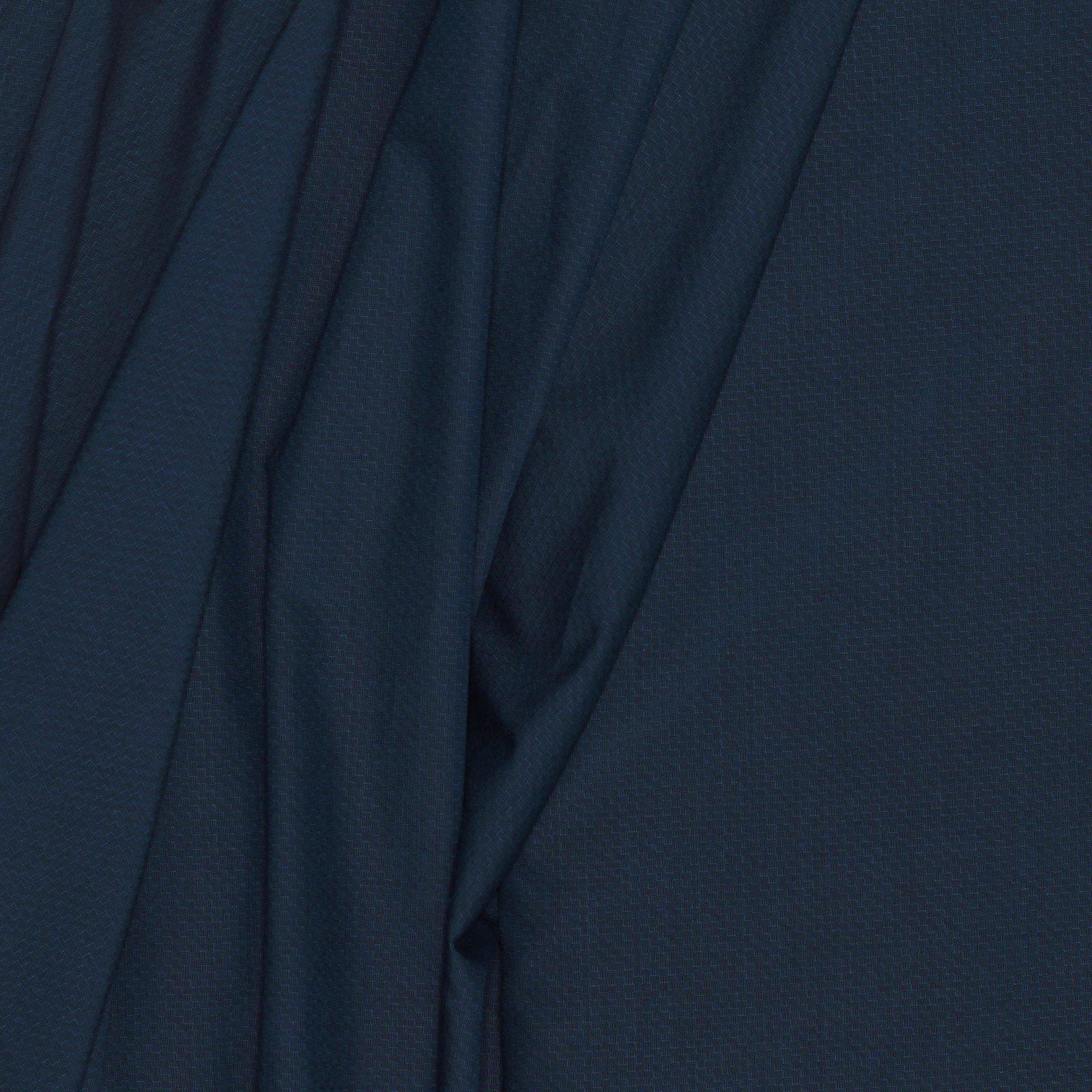 Deep Teal Italian Wool/Cotton/Lycra Blend