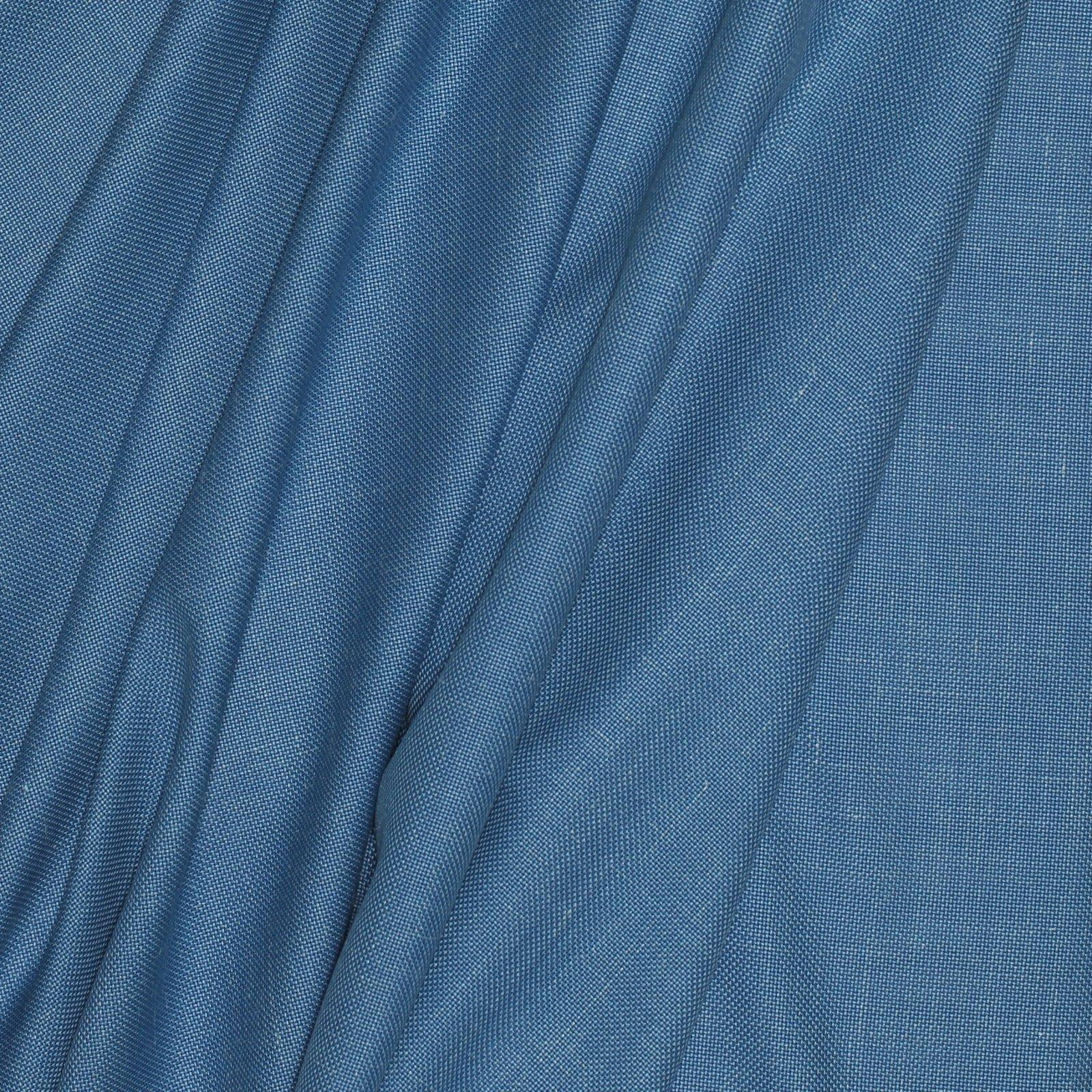 Sky Blue/Linen Silk Italian Tweed