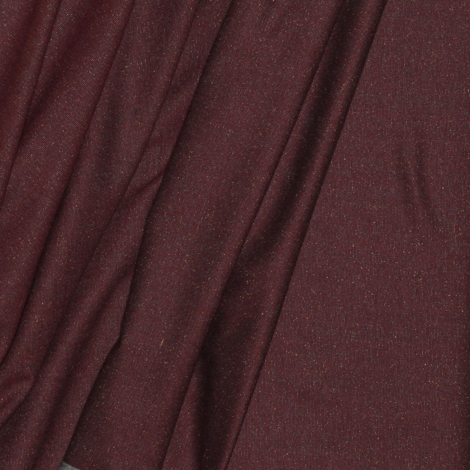 Burgundy w/Fleck Italian Linen/Silk/Wool Blend