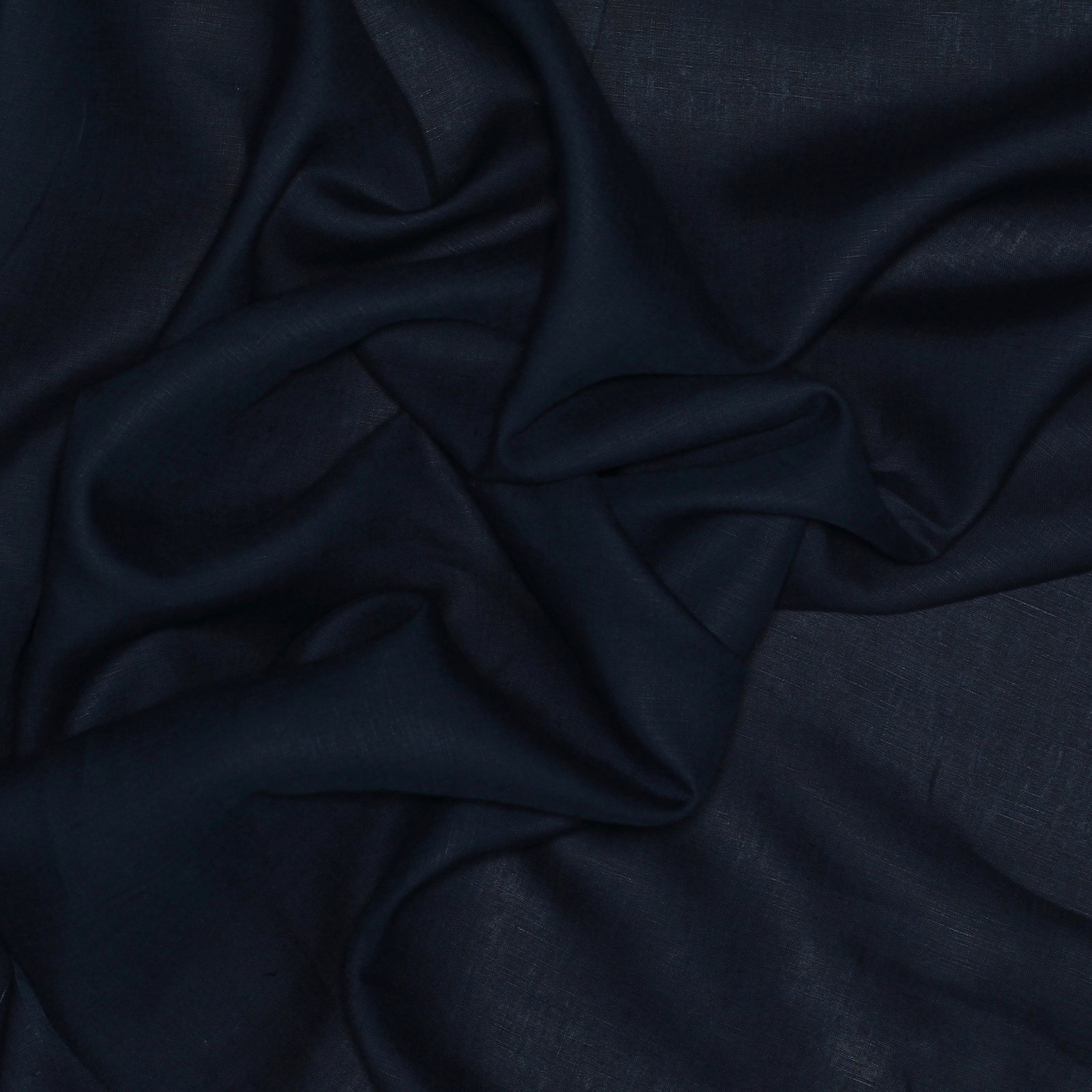 Italian Linen Midnight Navy