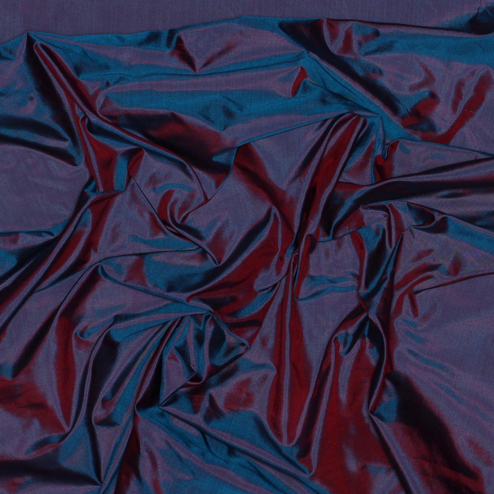 Pink/Blue Iridescent Silk