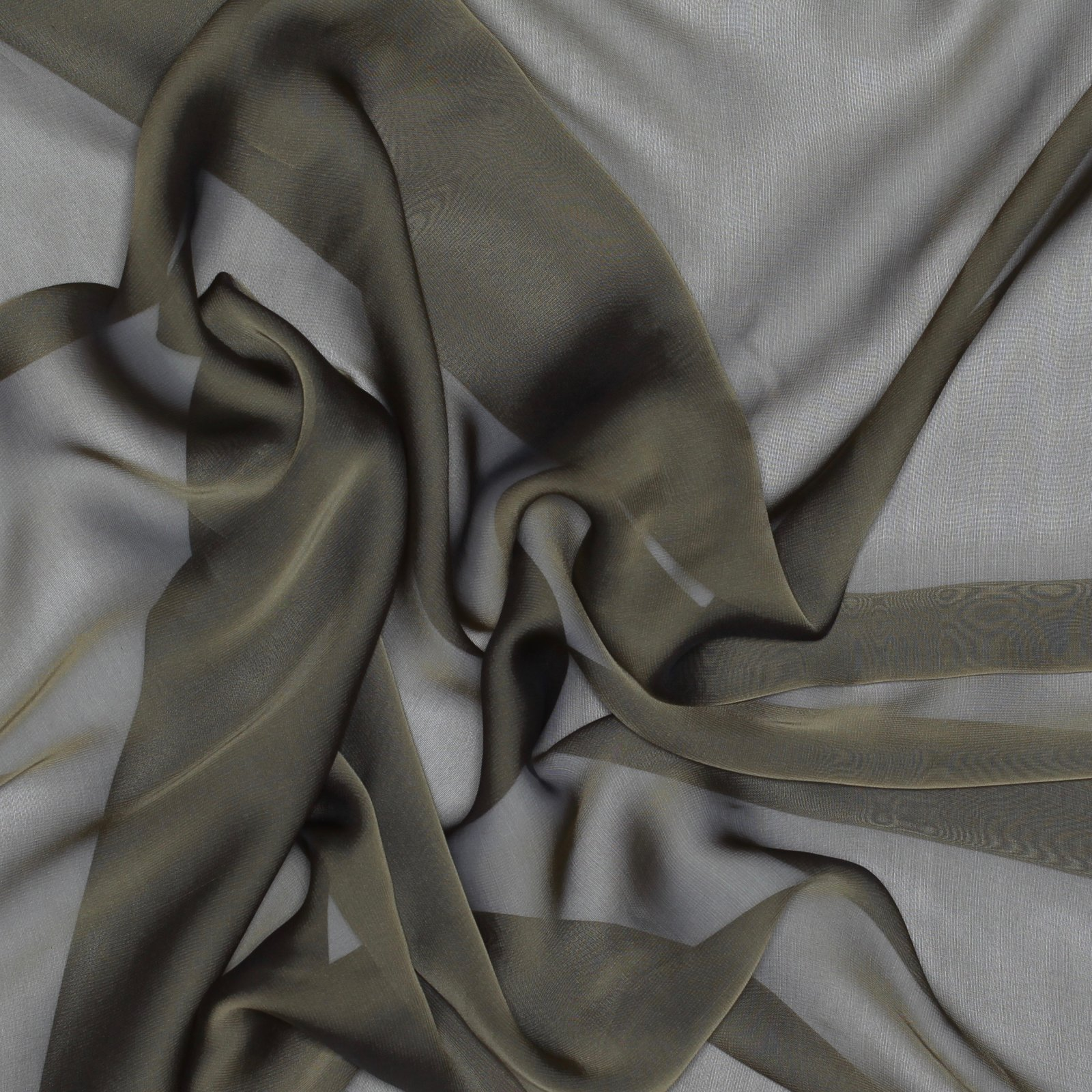 Silk & Rayon Sheer - Taupe
