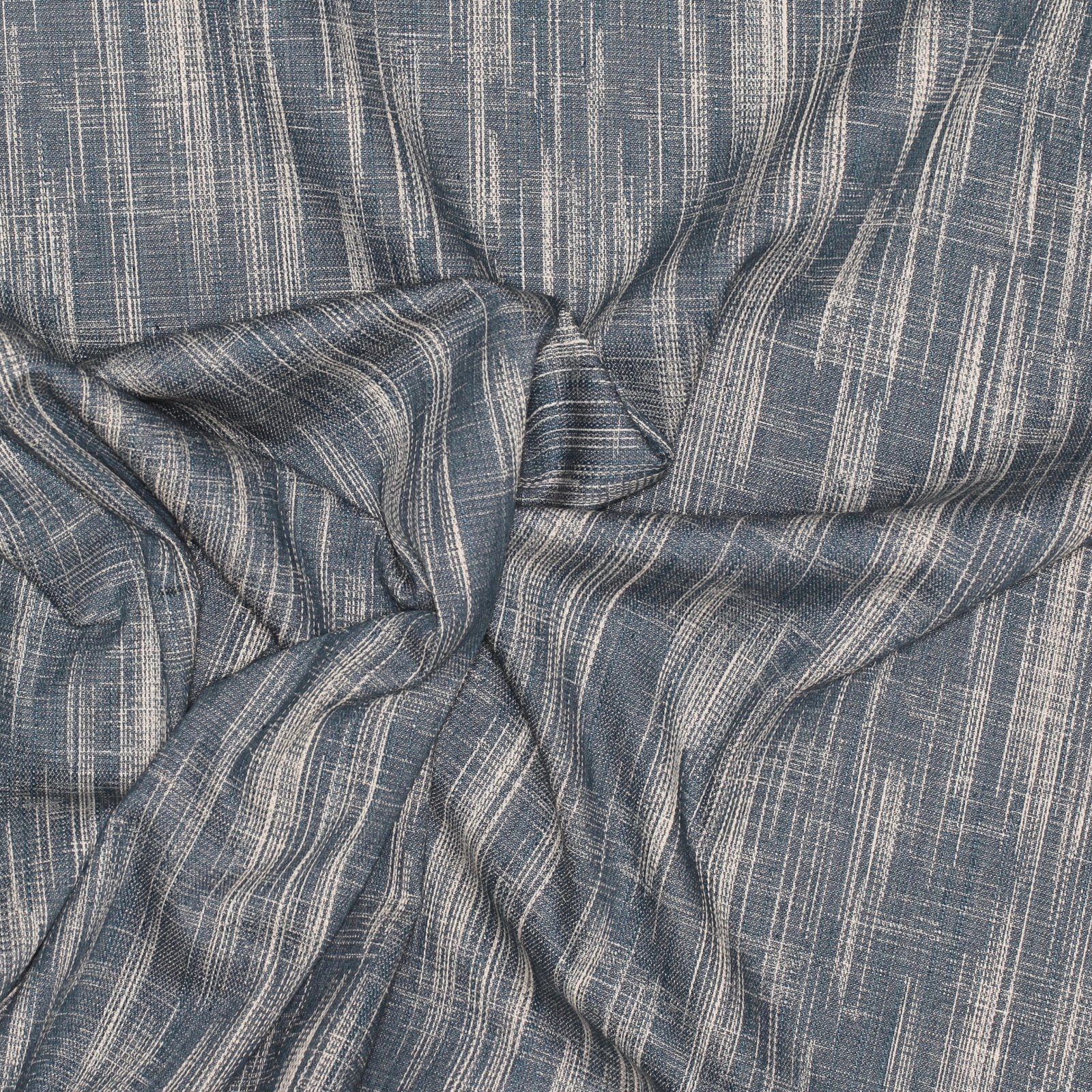 Textured Crosshatch Denim - Babbling Brook - Art Gallery