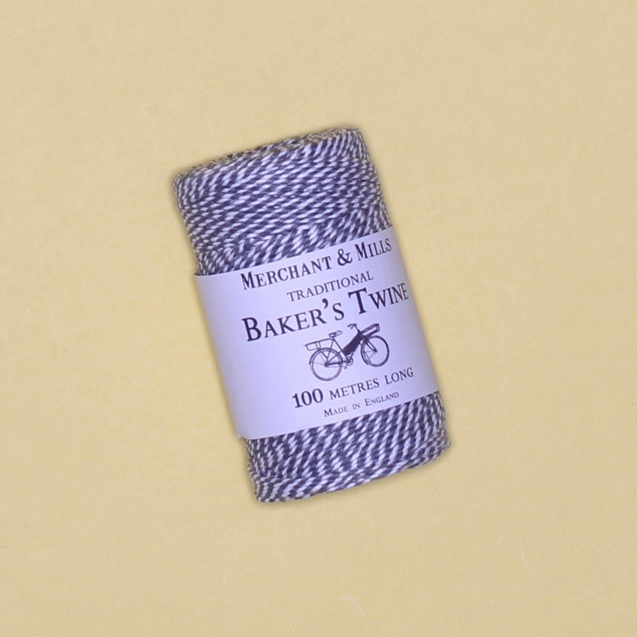 Merchant Mills Bakers Twine Cool Grey