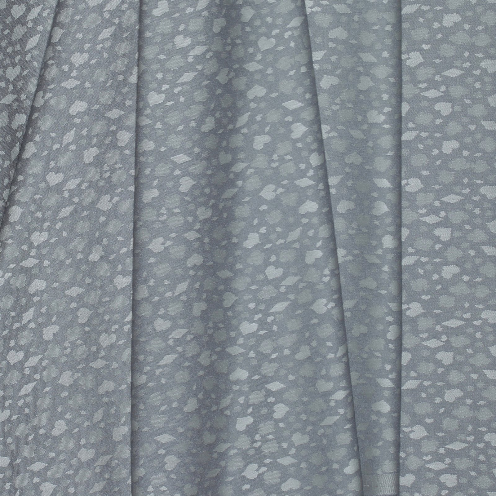 Grey on Grey Card Suits Jacquard Italian Wool Blend