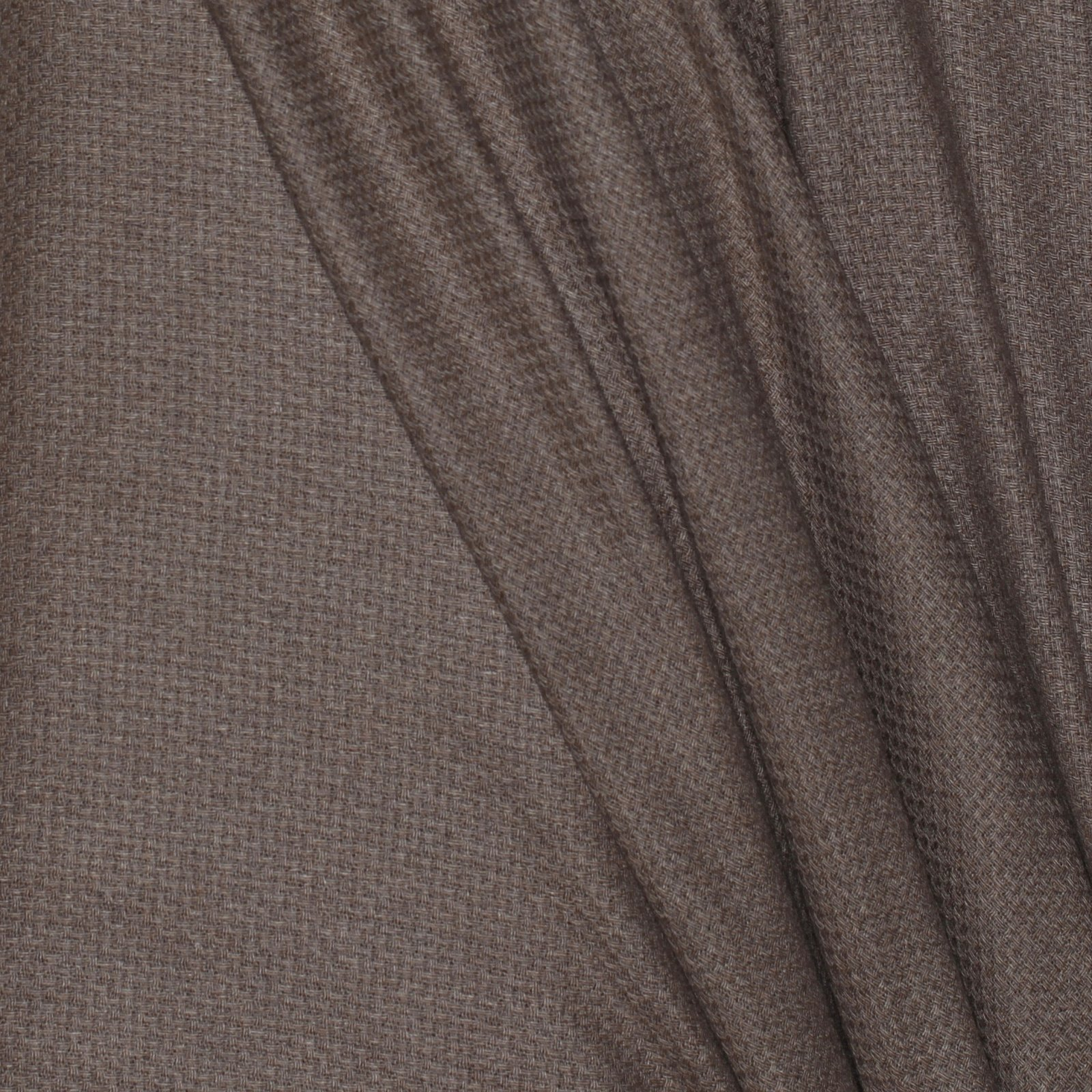 Light Umber Basketweave Italian Cashmere