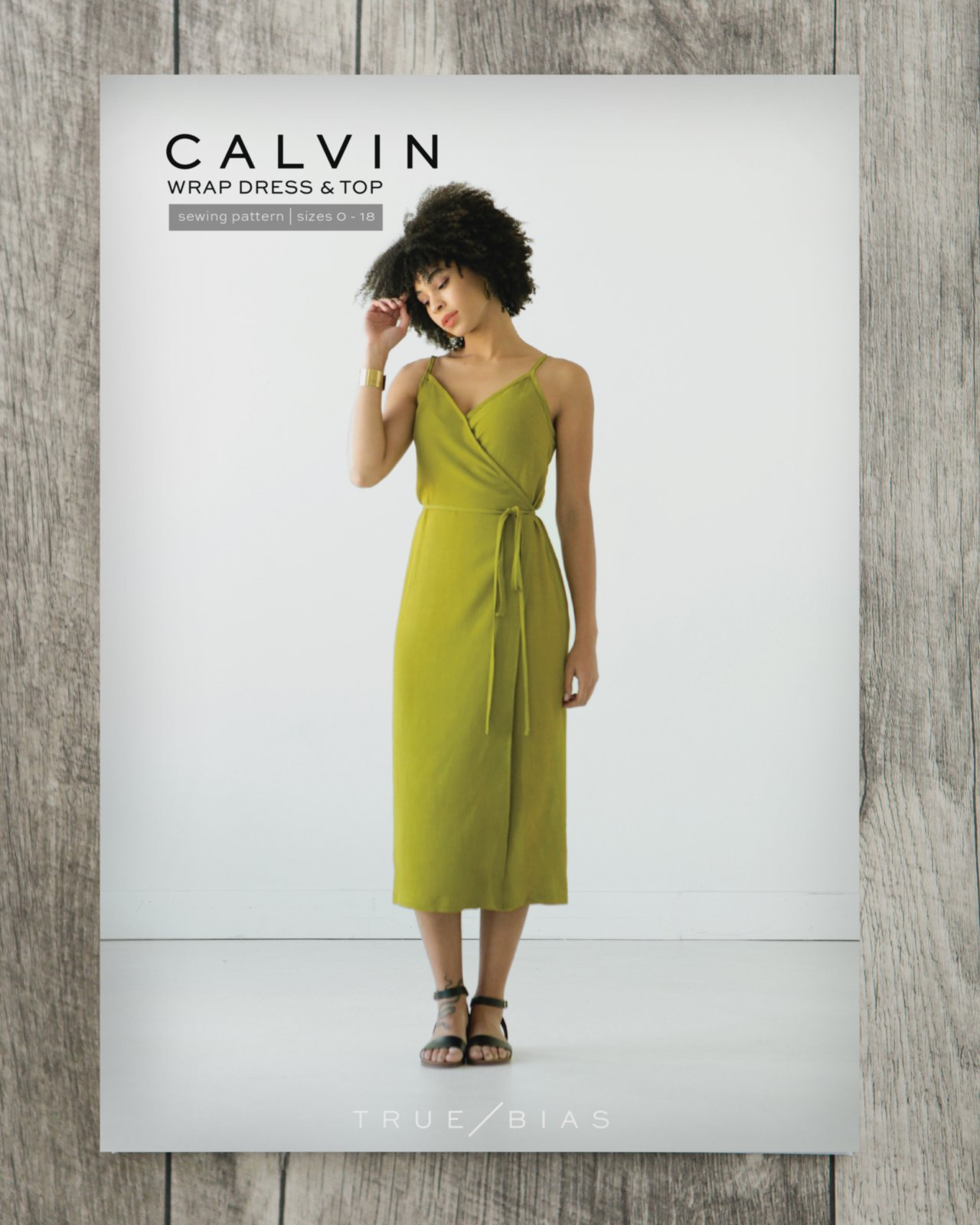 True Bias - Calvin Top/Dress Paper Pattern