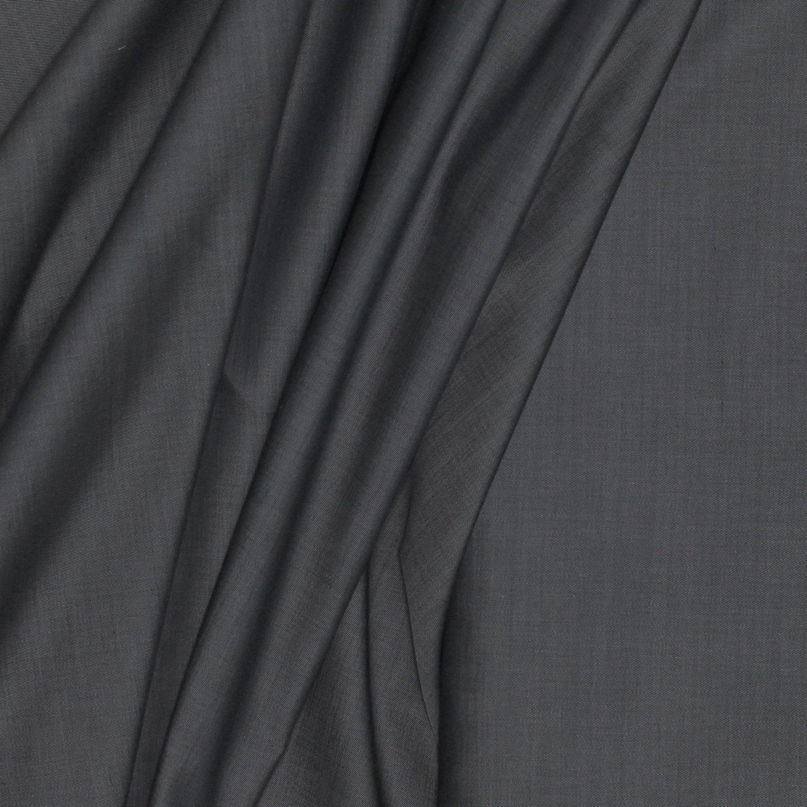 Grey Twill Italian Cotton/Wool