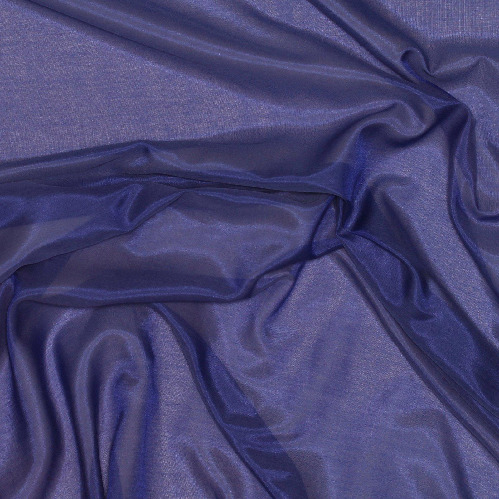 Purple Silk/Cotton Voile