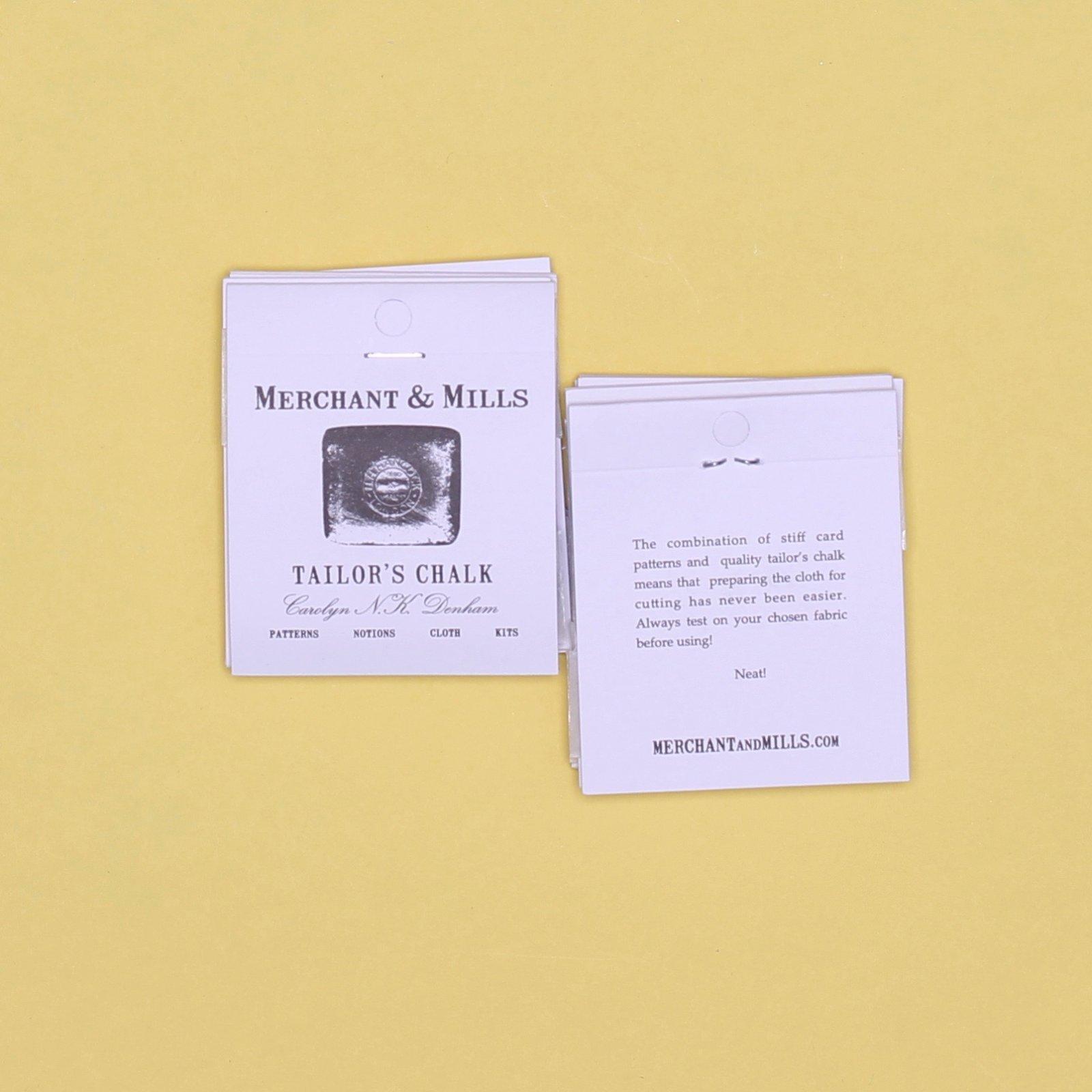 Merchant Mills Tailor's Chalk