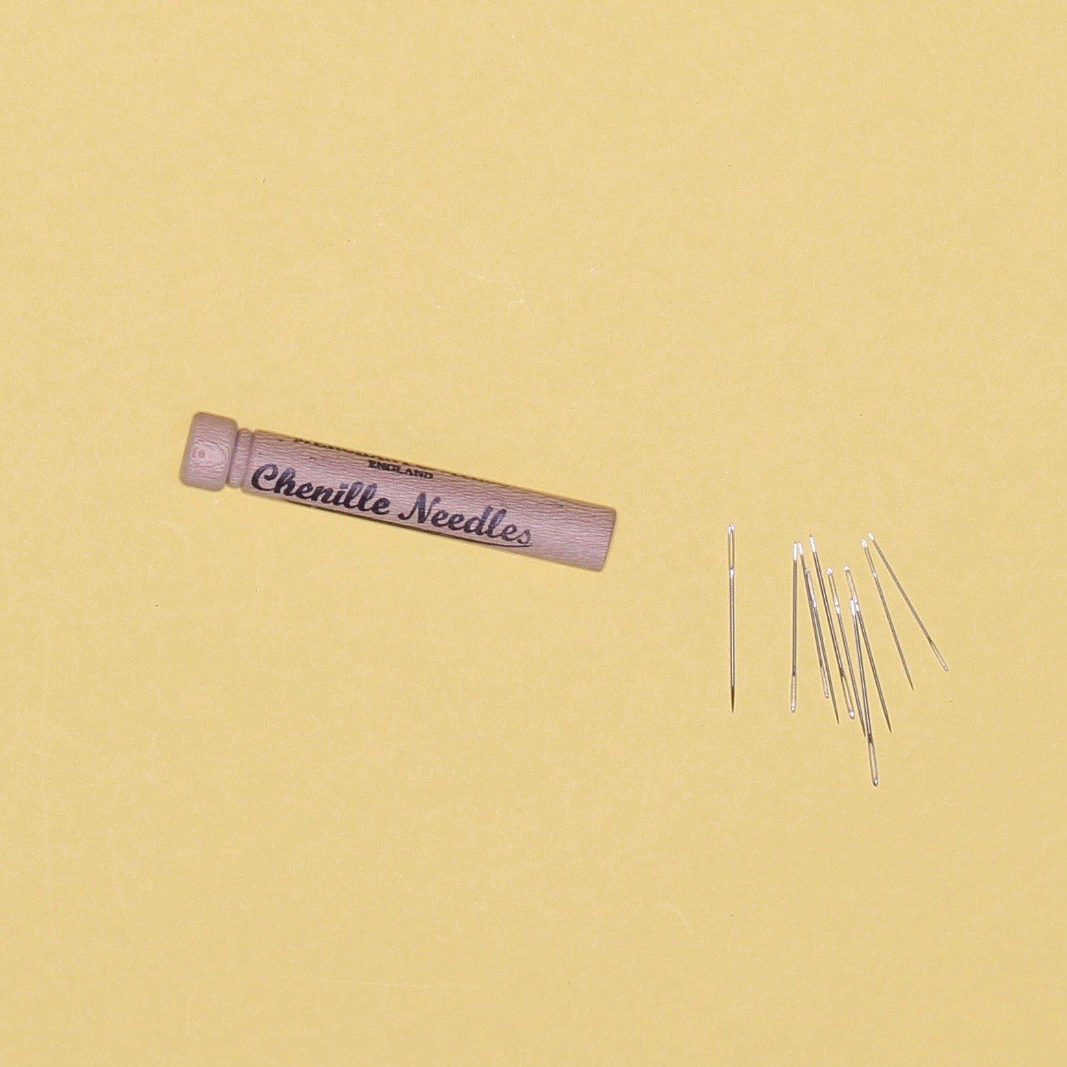 Merchant Mills Chenille Needles & Wooden Case