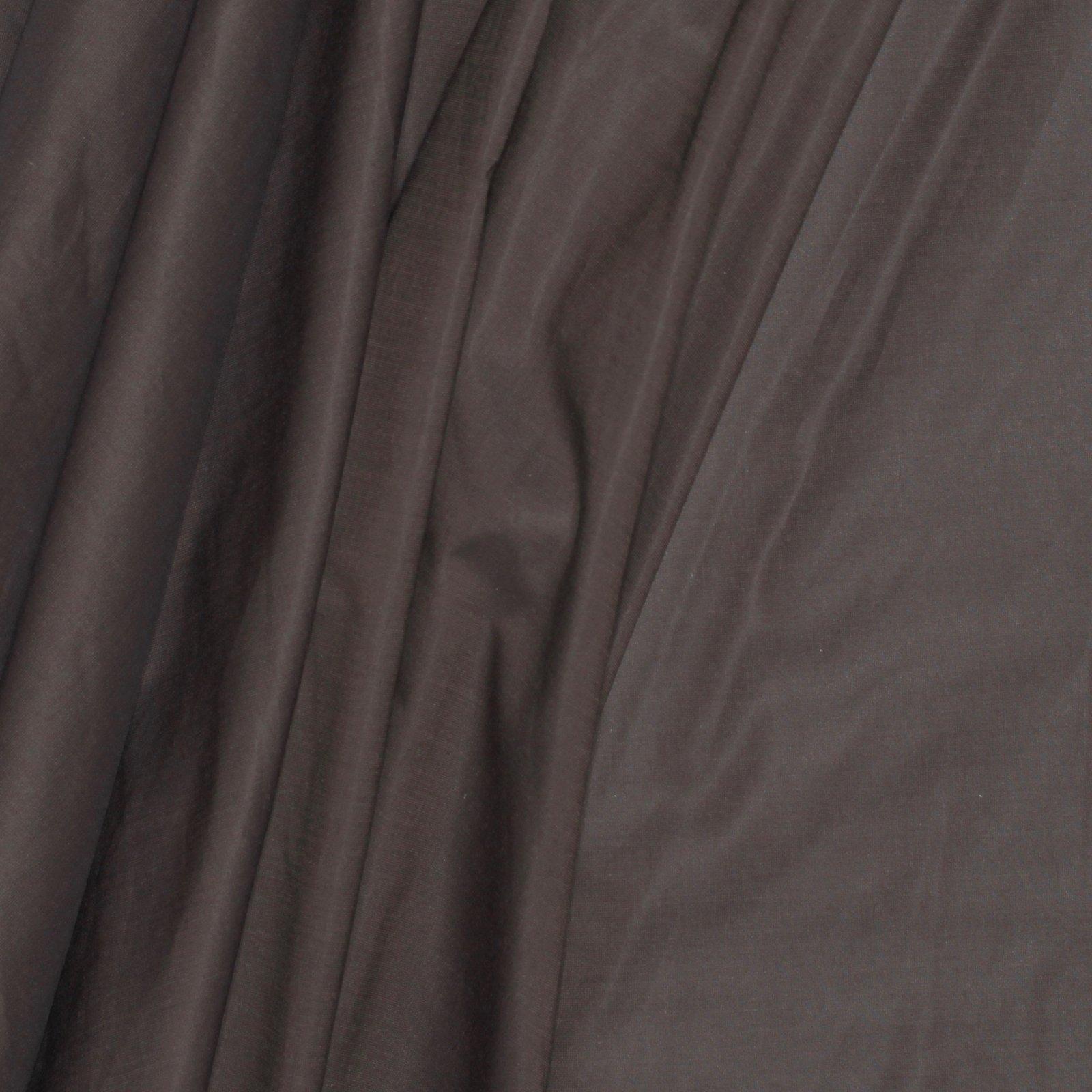 Brown Italian Cotton/Silk Shirting