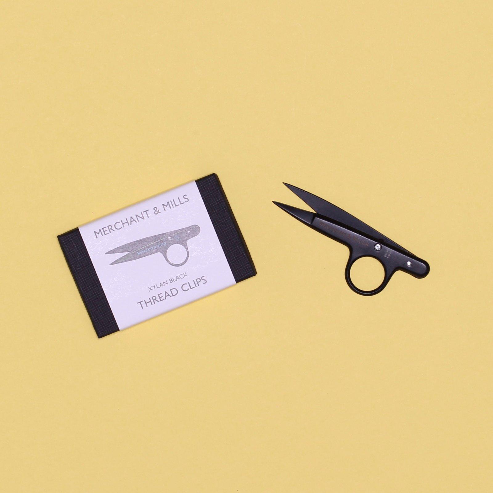Merchant Mills Black Thread Clips - Sheffield Scissors