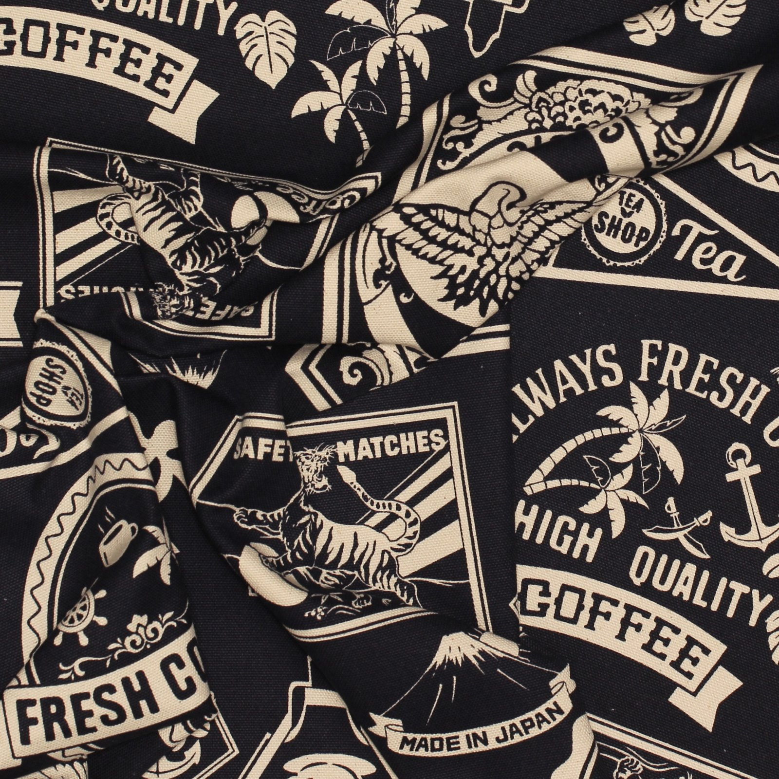Coffee Canvas - Japanese Cotton Canvas