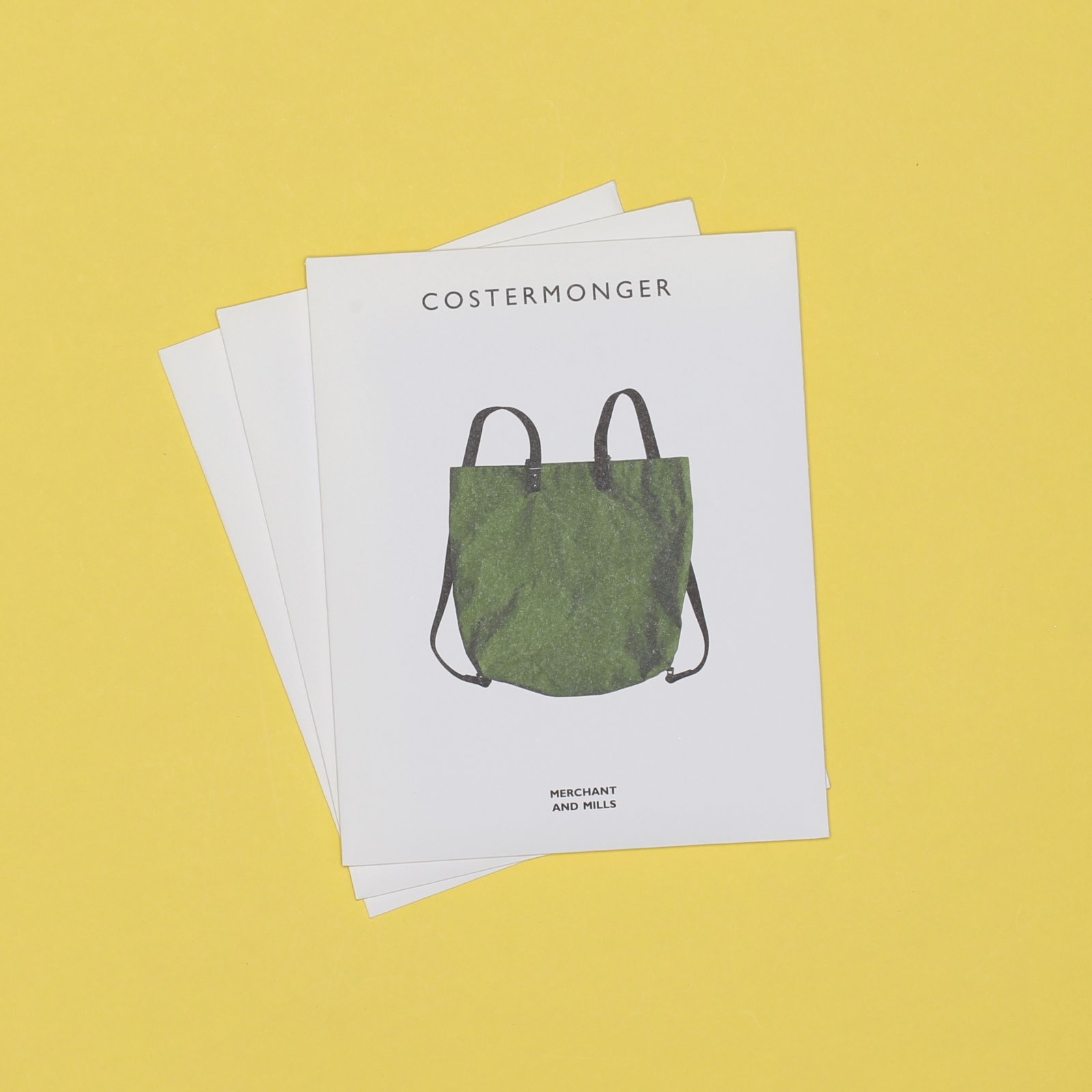 M&M PATTERN - THE COSTERMONGER BAG