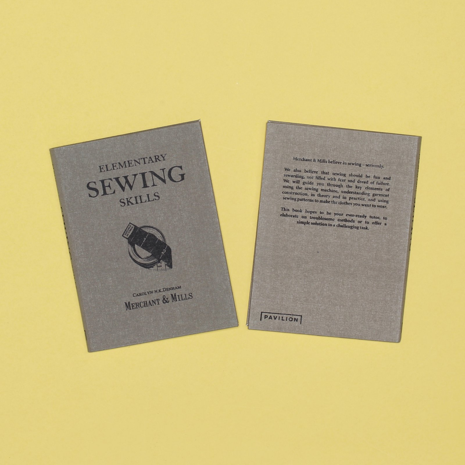 Merchant Mills Elementary Sewing Skills Book