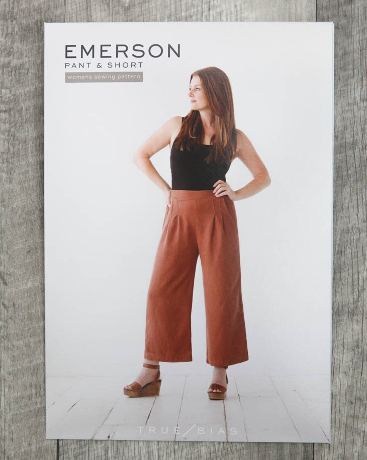 True Bias - Emerson Pants & Shorts Paper Pattern