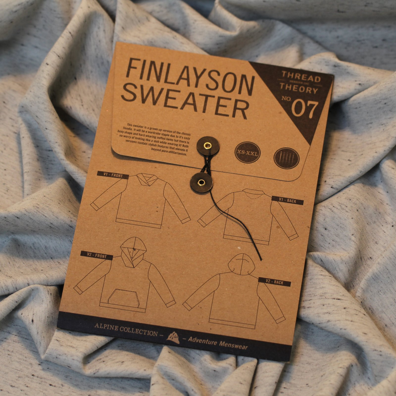 Thread Theory - Finlayson Sweater Printed Pattern (Men's)