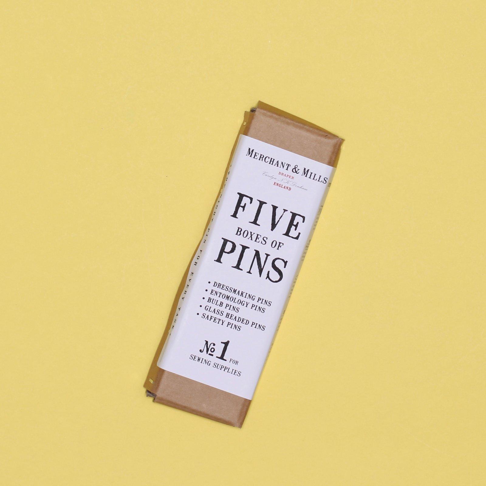 Merchant Mills Five Pin Set