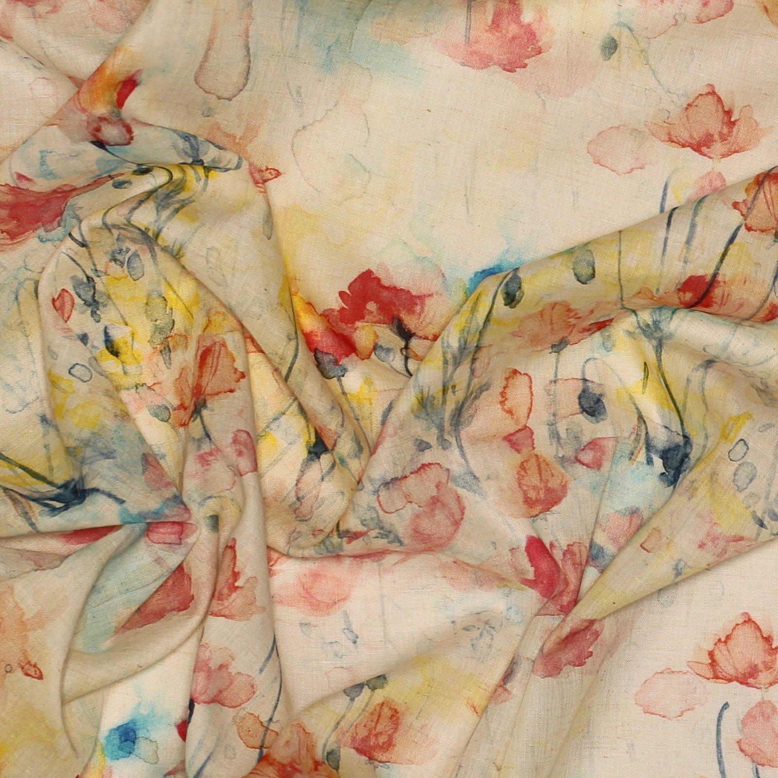 Spring Floral - Kokka Cotton/Linen Lawn