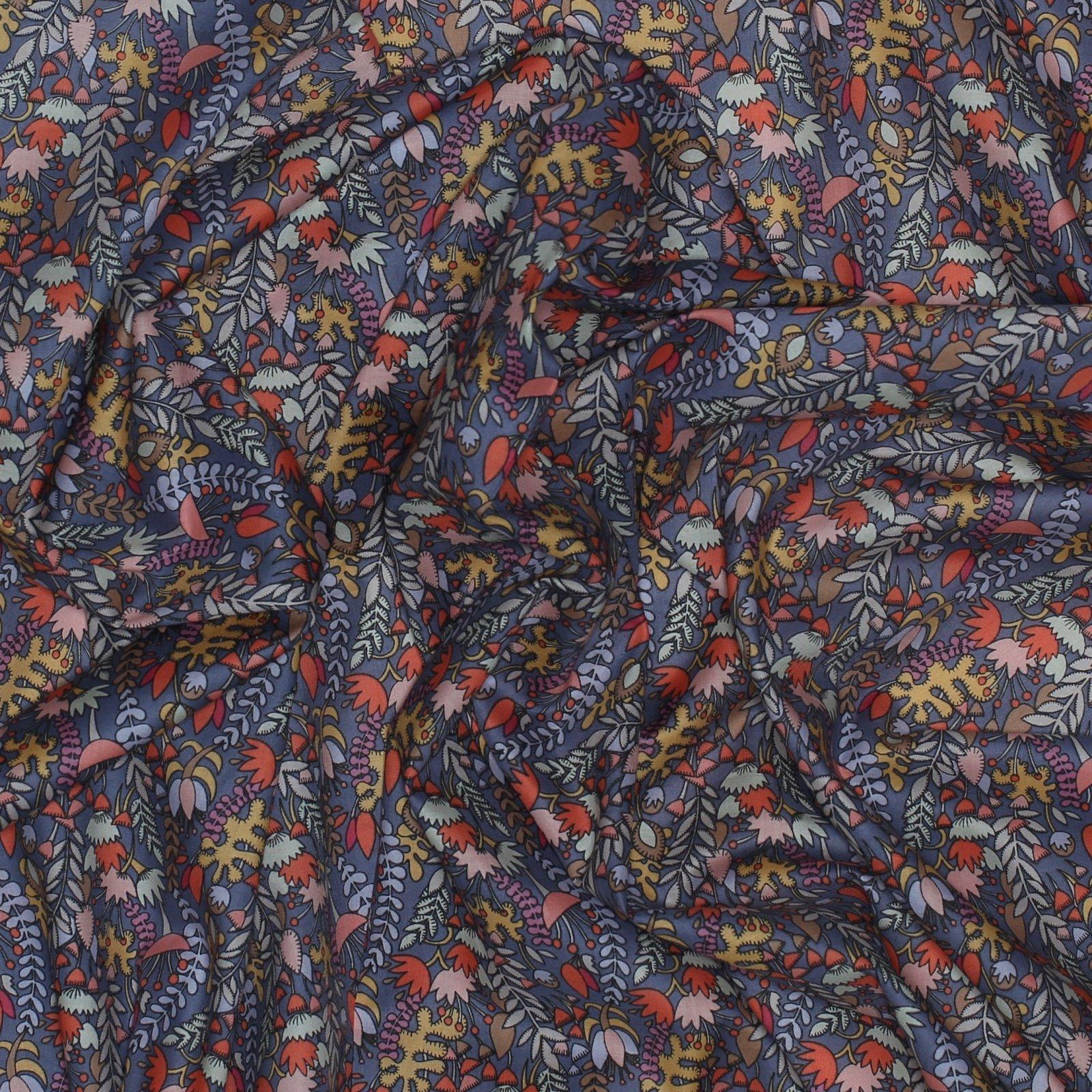 Floral Fantasy Cotton Lawn Fabric