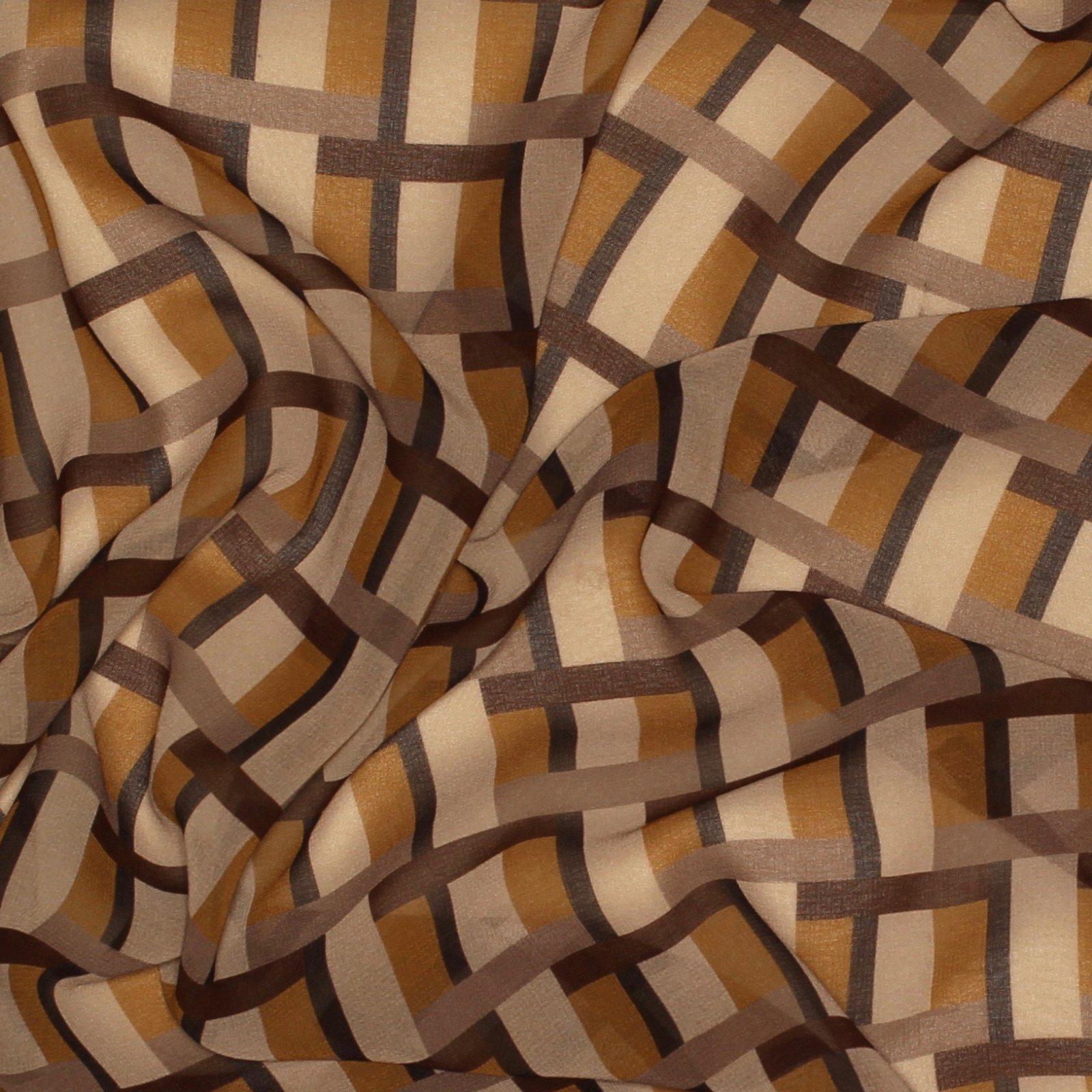 Geometric Printed Silk Chiffon - Elie Tahari