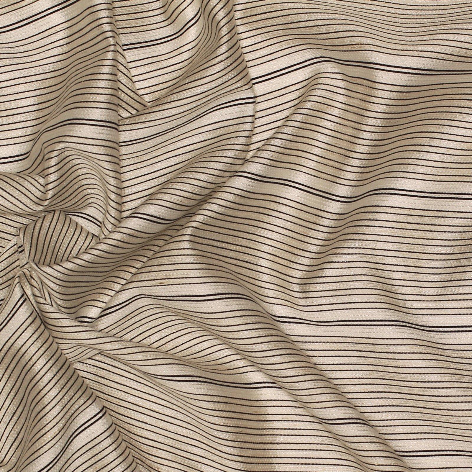 White/Black Striped Rayon Blend - Elie Tahari
