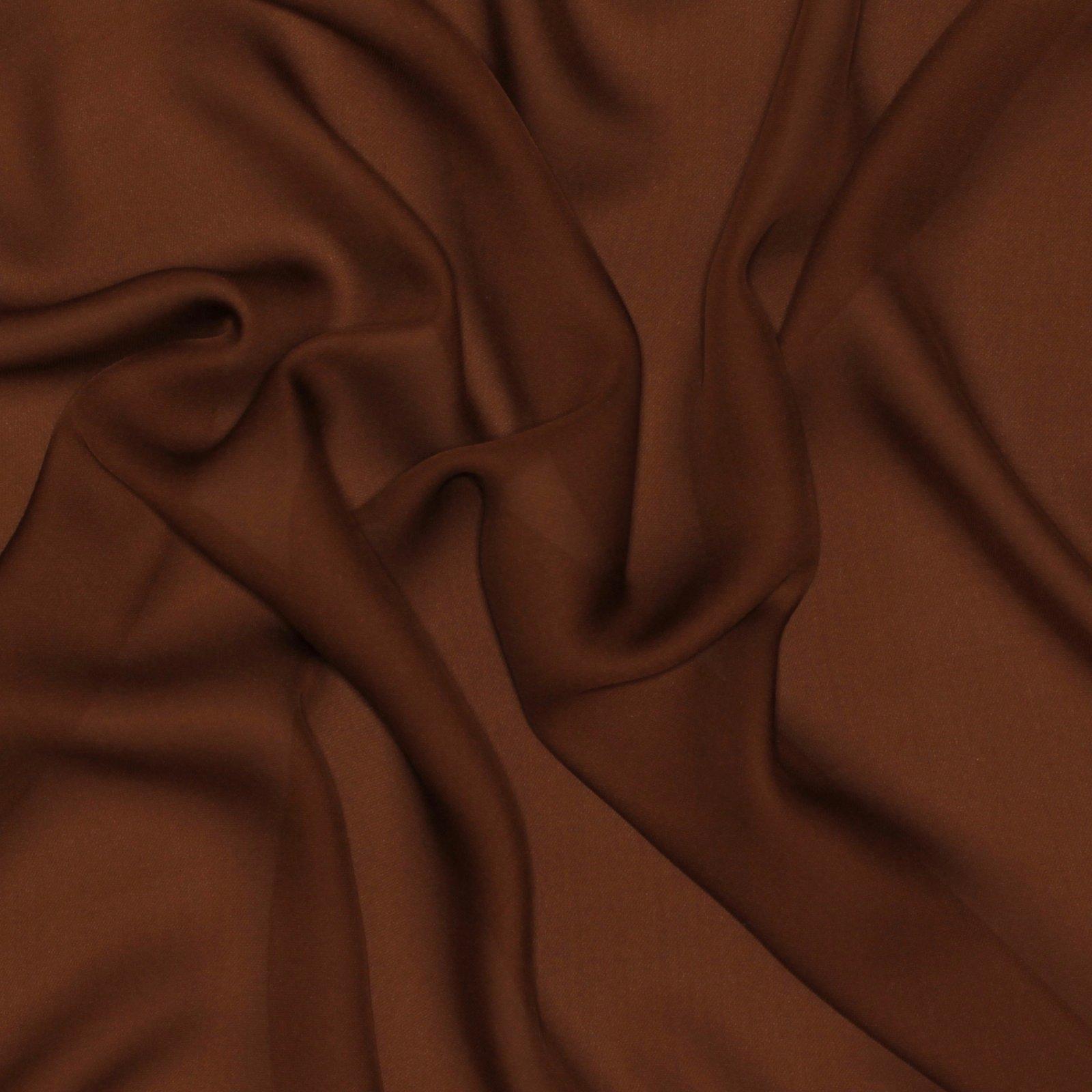 Coffee -  Silk Double Georgette - Elie Tahari