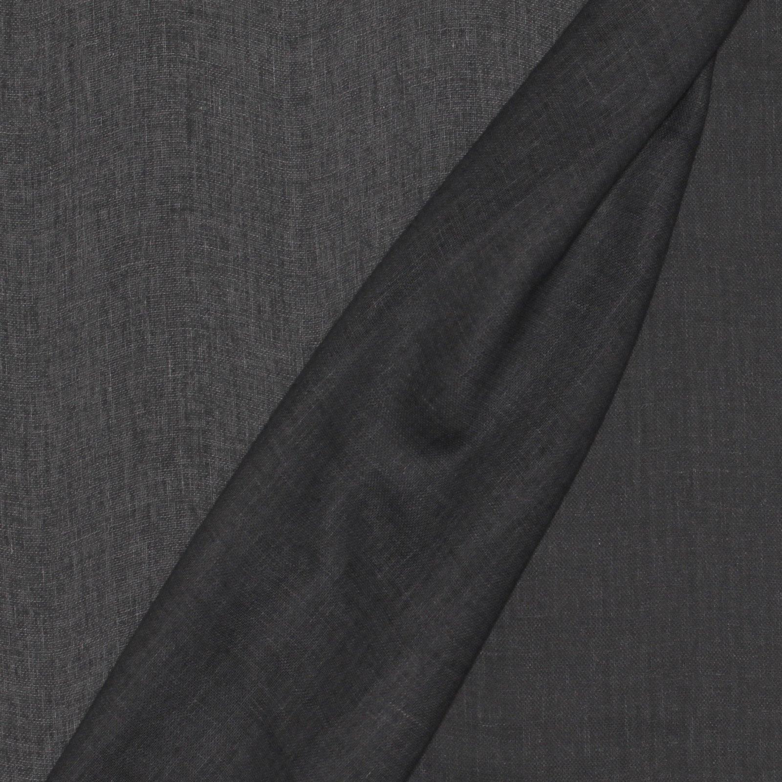 Denim Blue Double Gauze; Japanese Cotton/Linen Blend; 45%COTTON 55%LINEN - 45