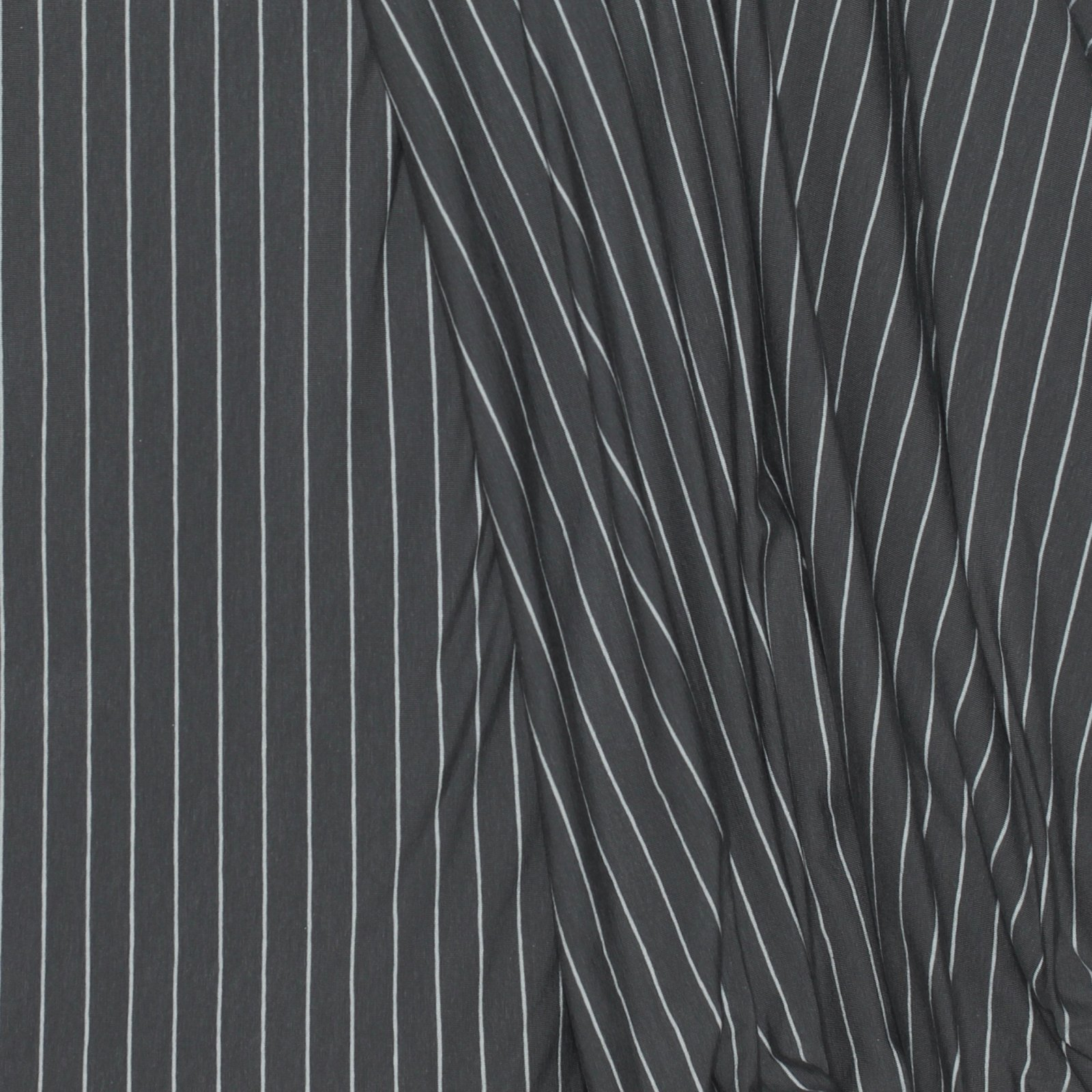 Striped Sleek Graphite - Art Gallery Cotton Knit