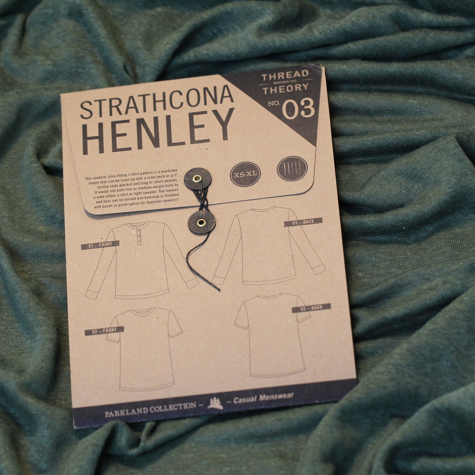 Thread Theory - Strathcona Henley Printed Pattern (Men's)