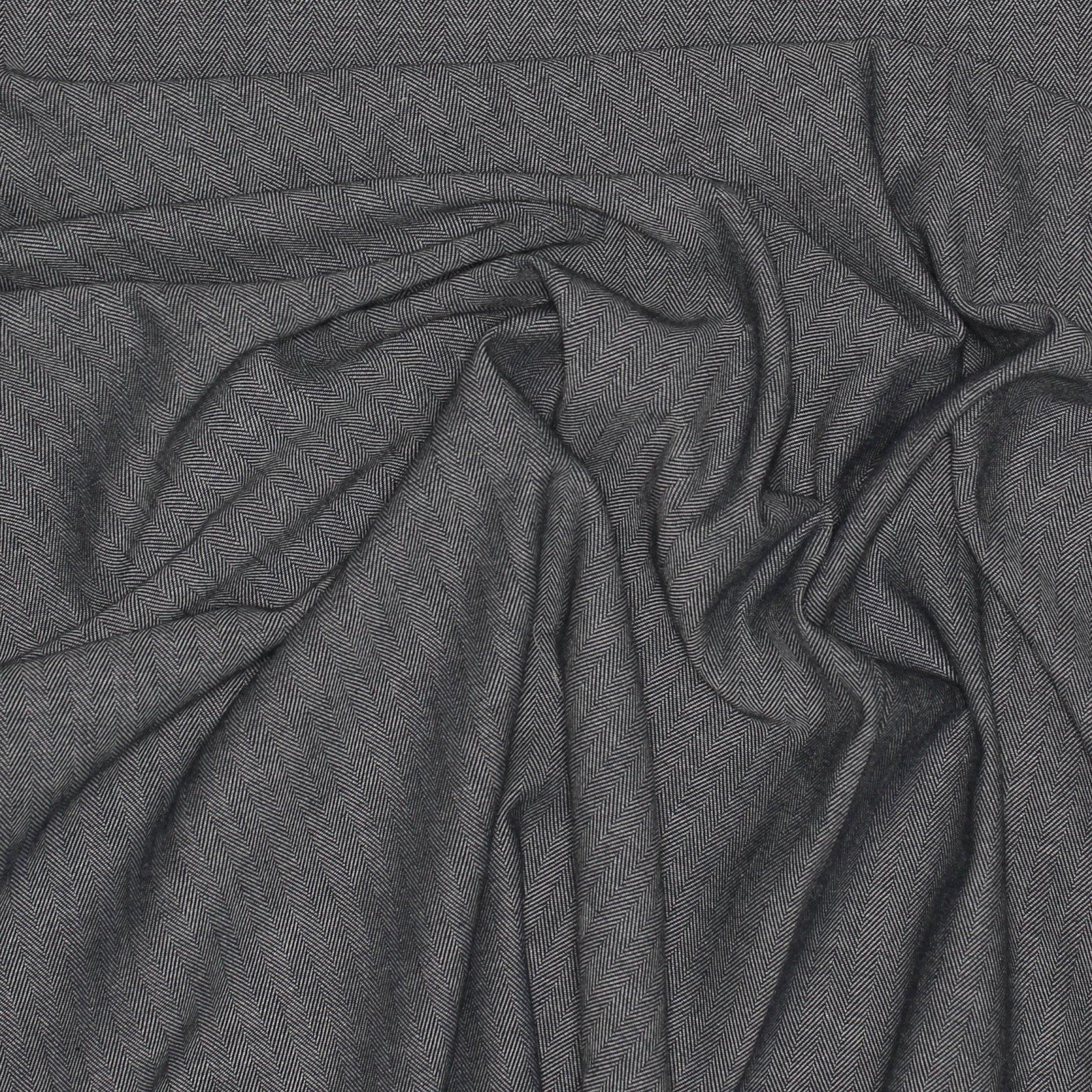 Yarn Dyed Herringbone - Charcoal Japanese Cotton