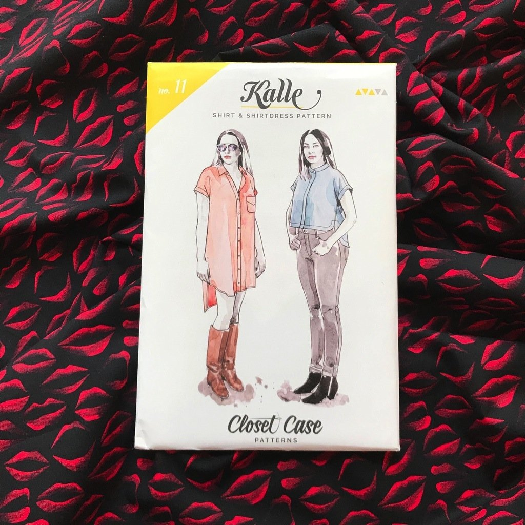 Closet Core - Kalle Shirt & Shirtdress Pattern