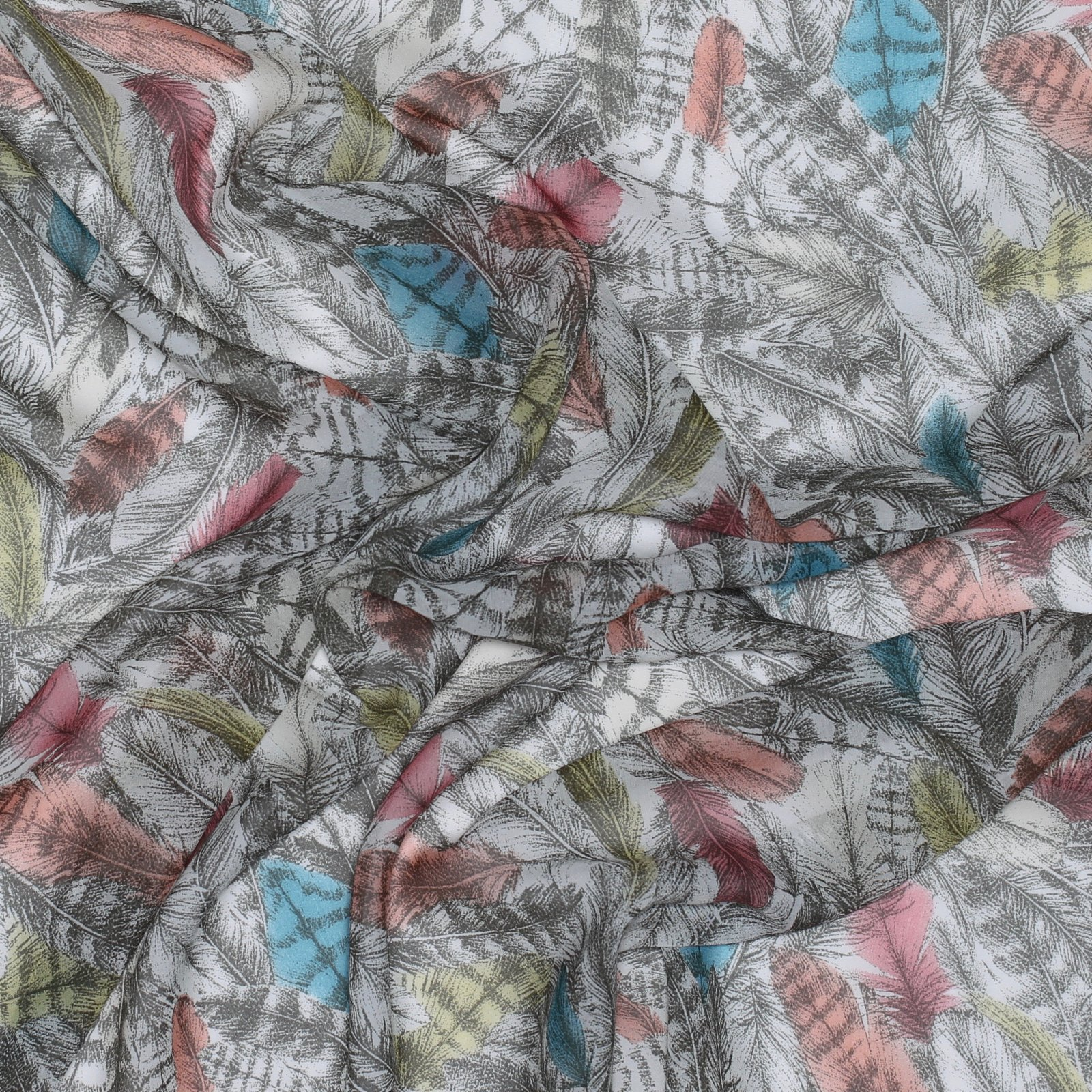 Liberty of London Kerry's Flock Silk Chiffon