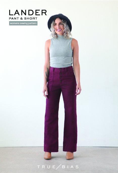 True Bias - Lander Short/Pant Paper Pattern