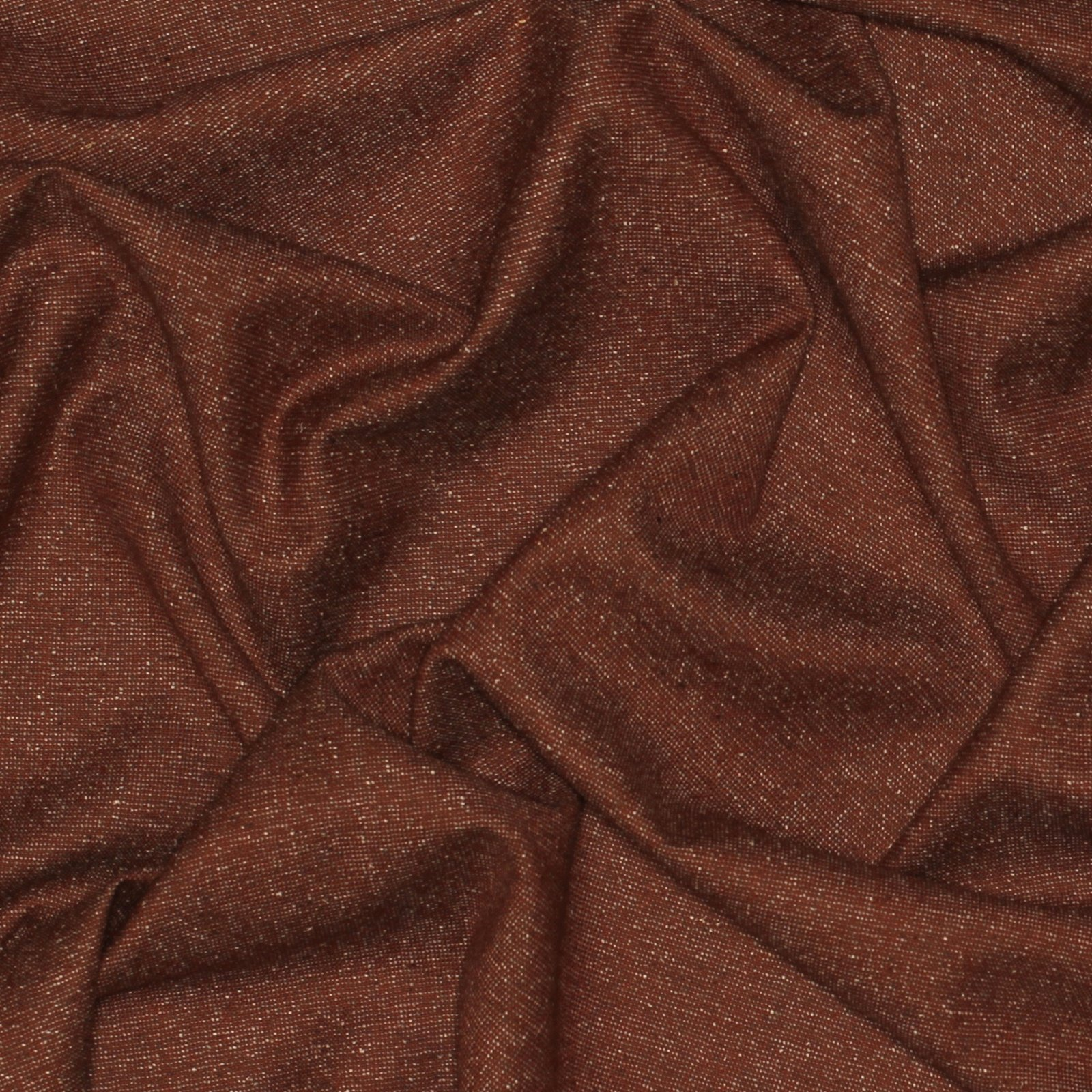 Rust Tweed Italian Wool/Silk; 60;