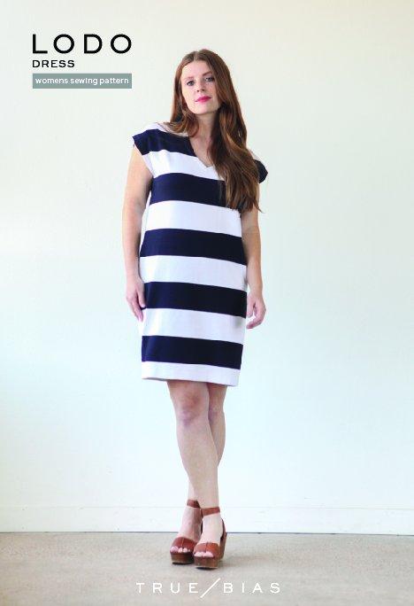 True Bias - Lodo Dress Paper Pattern