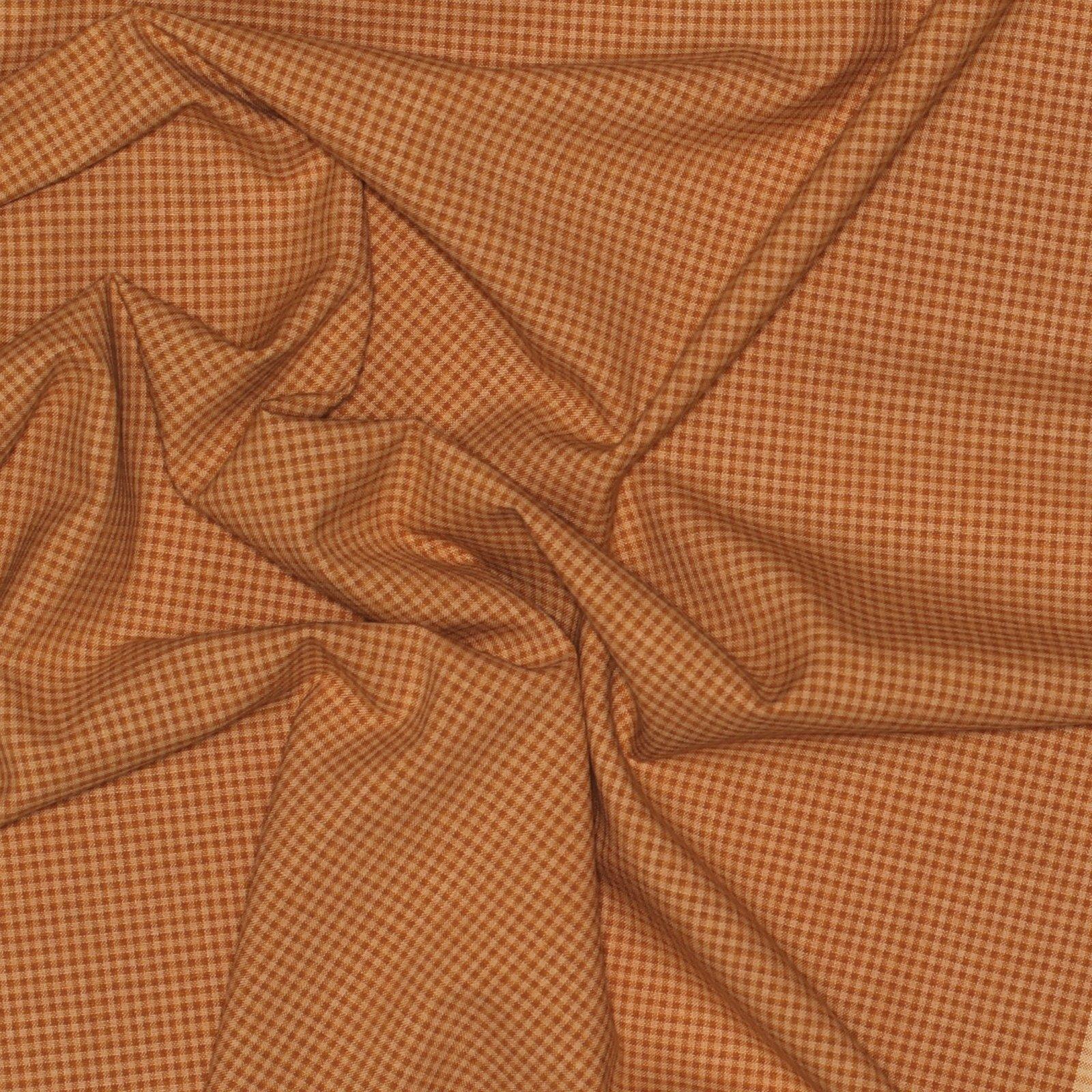Autumn Gingham Italian Wool/Cotton/Silk Blend; 58