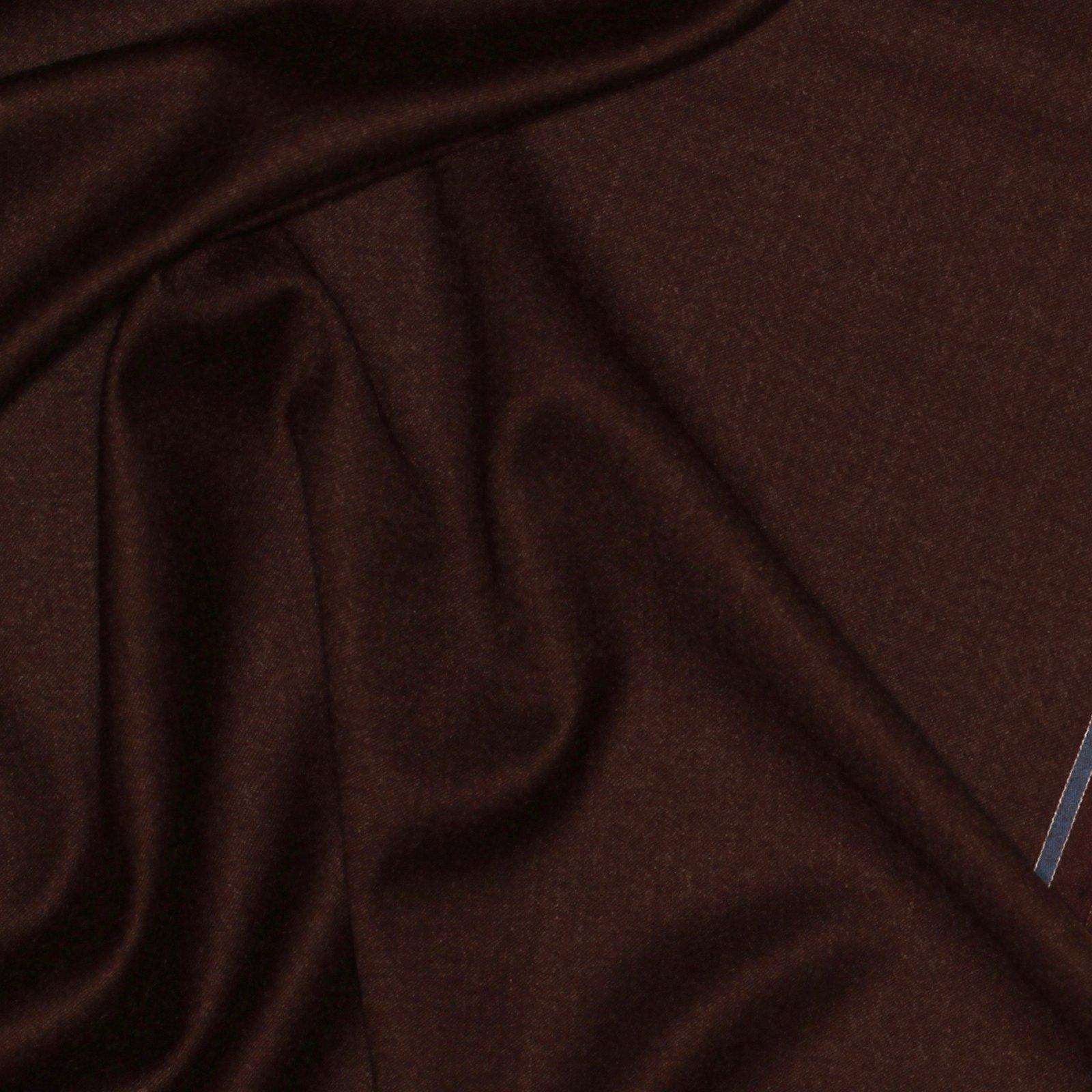 Dark Chocolate Italian Wool/Cashmere Blend; 60