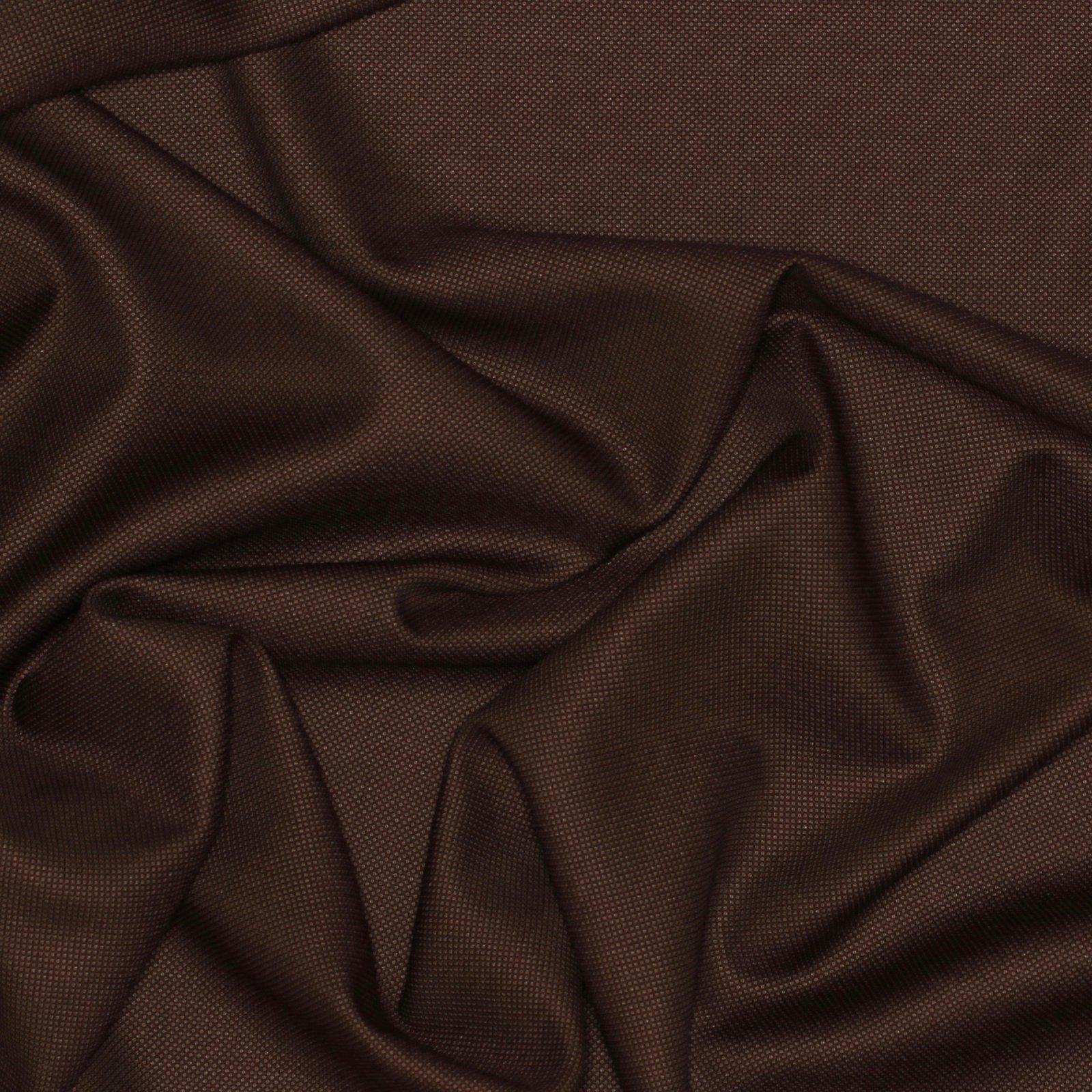 Umber Honeycomb Italian Wool/Silk Blend; 60