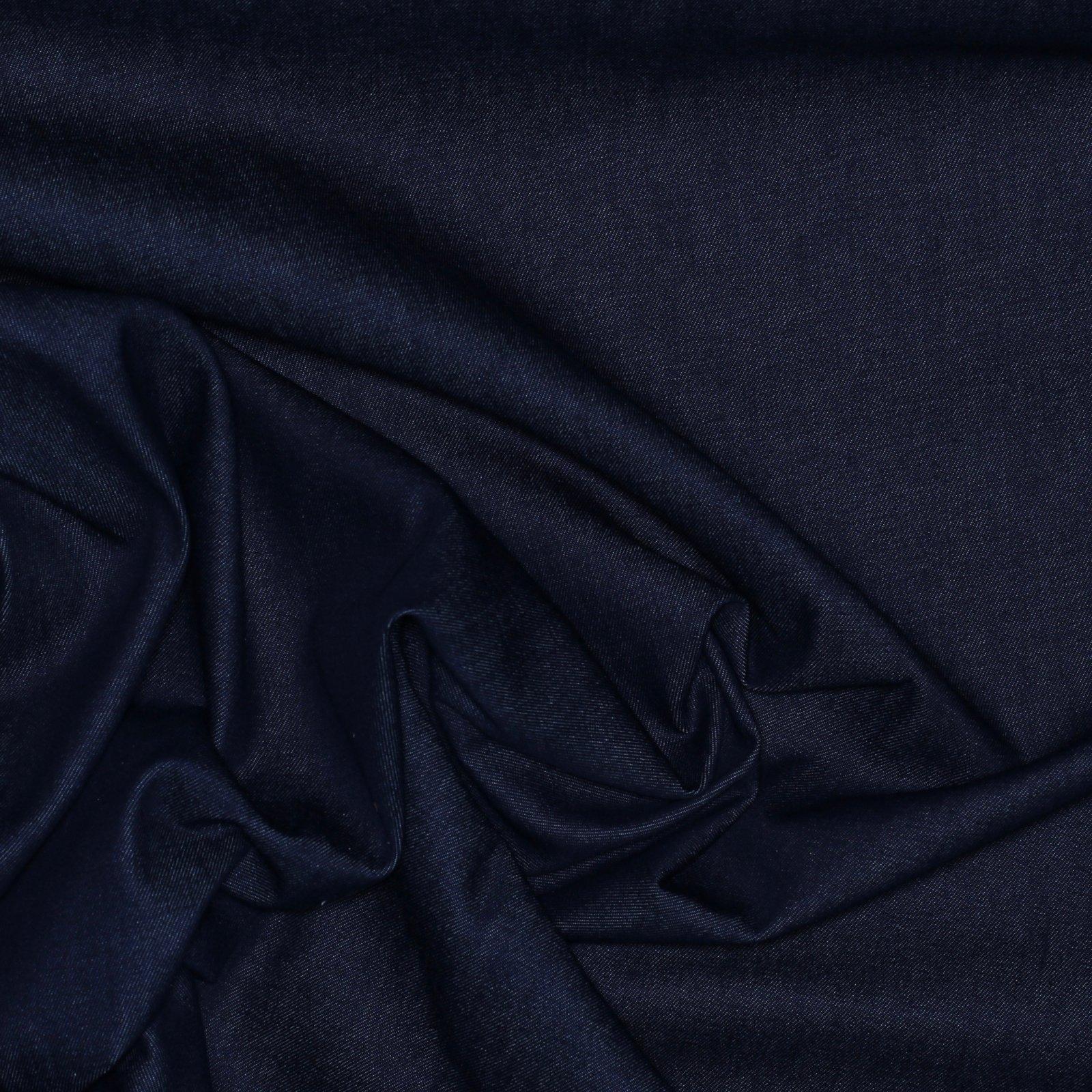 Deep Blue Cotton Denim