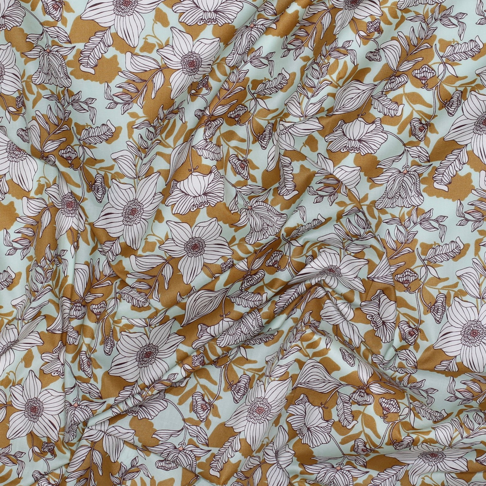 Thrive Passiflora - Art Gallery Cotton Voile