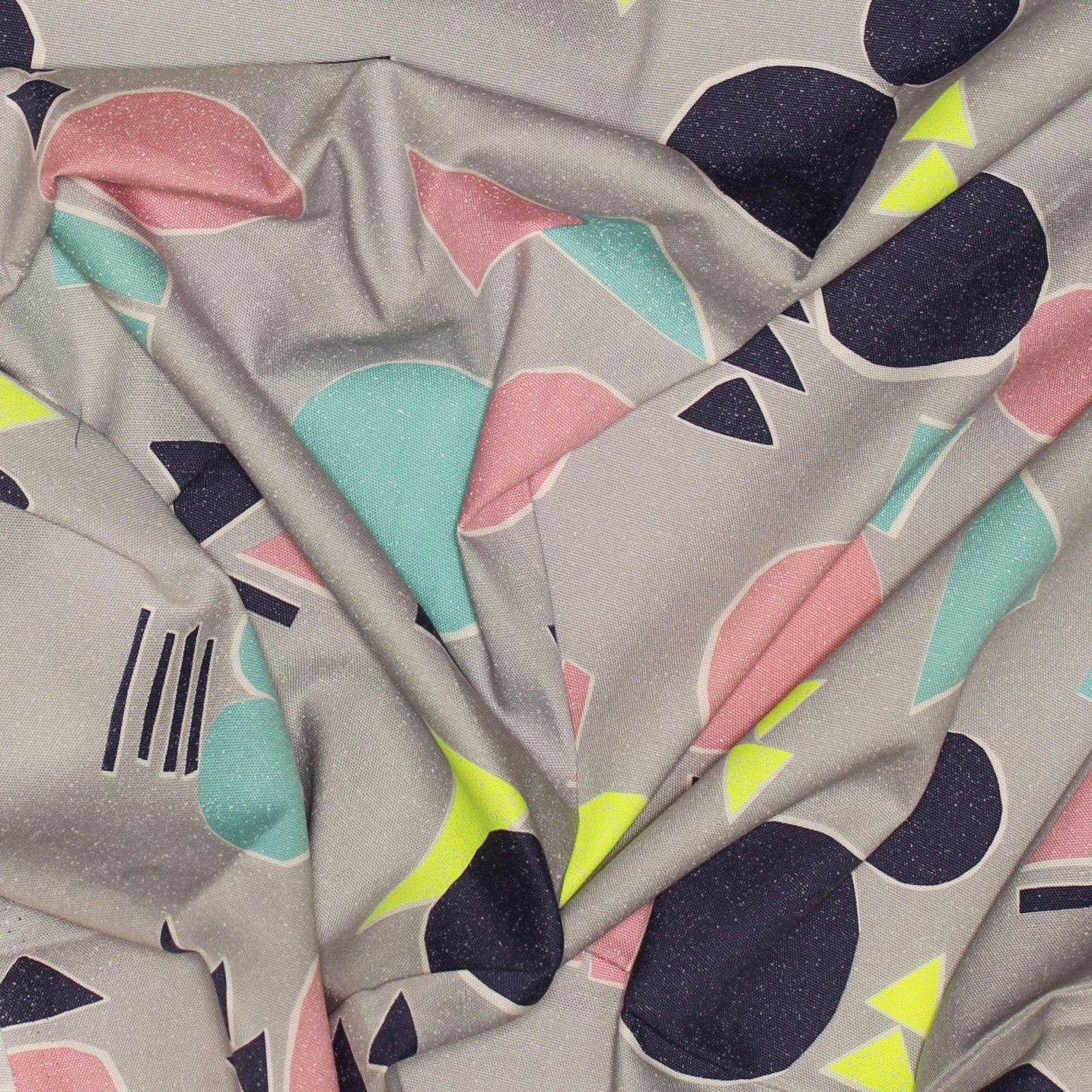 Kokka - Geometric Pop Canvas - Japanese Cotton