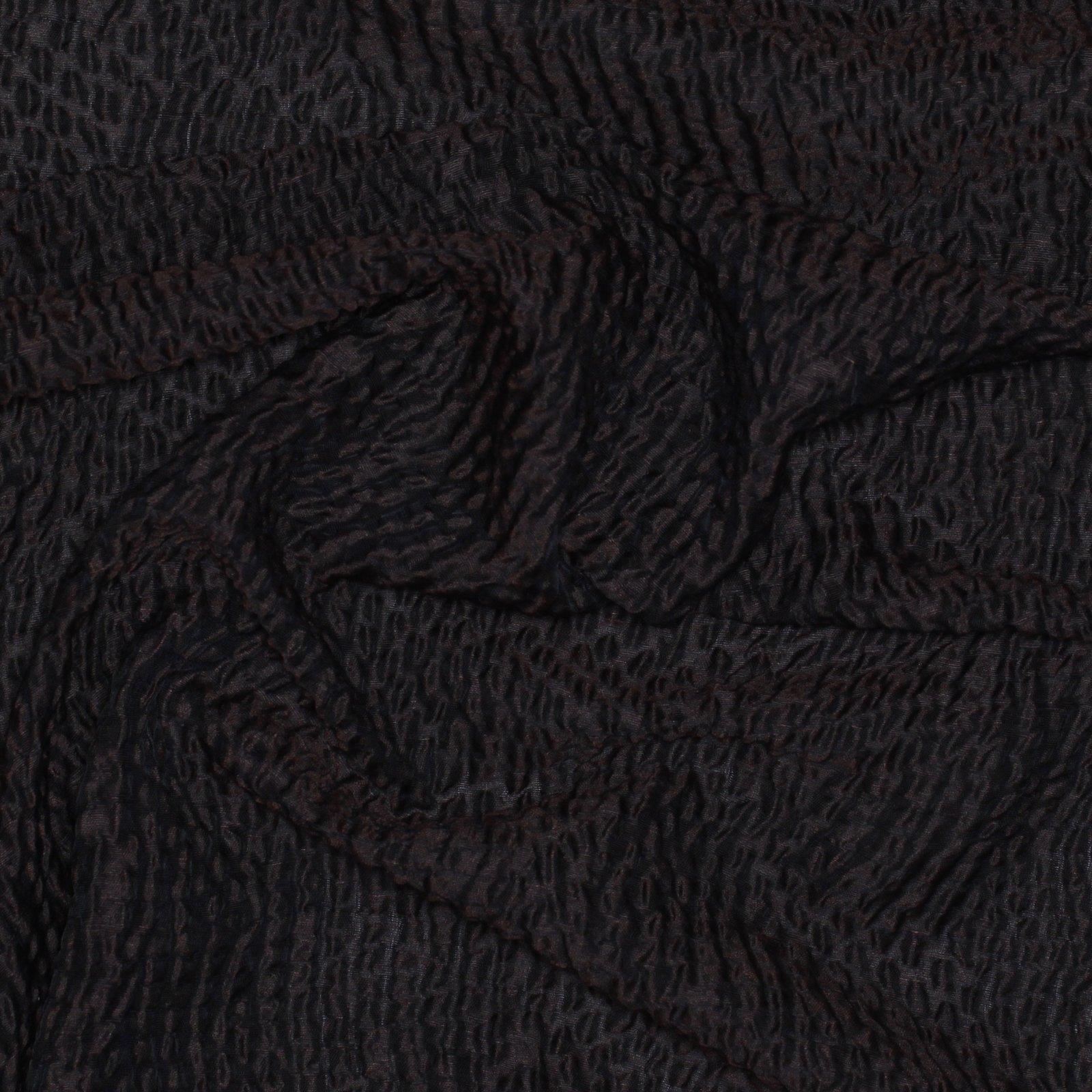 Rodarte Maroon With Black Crossweave Textured Linen Blend